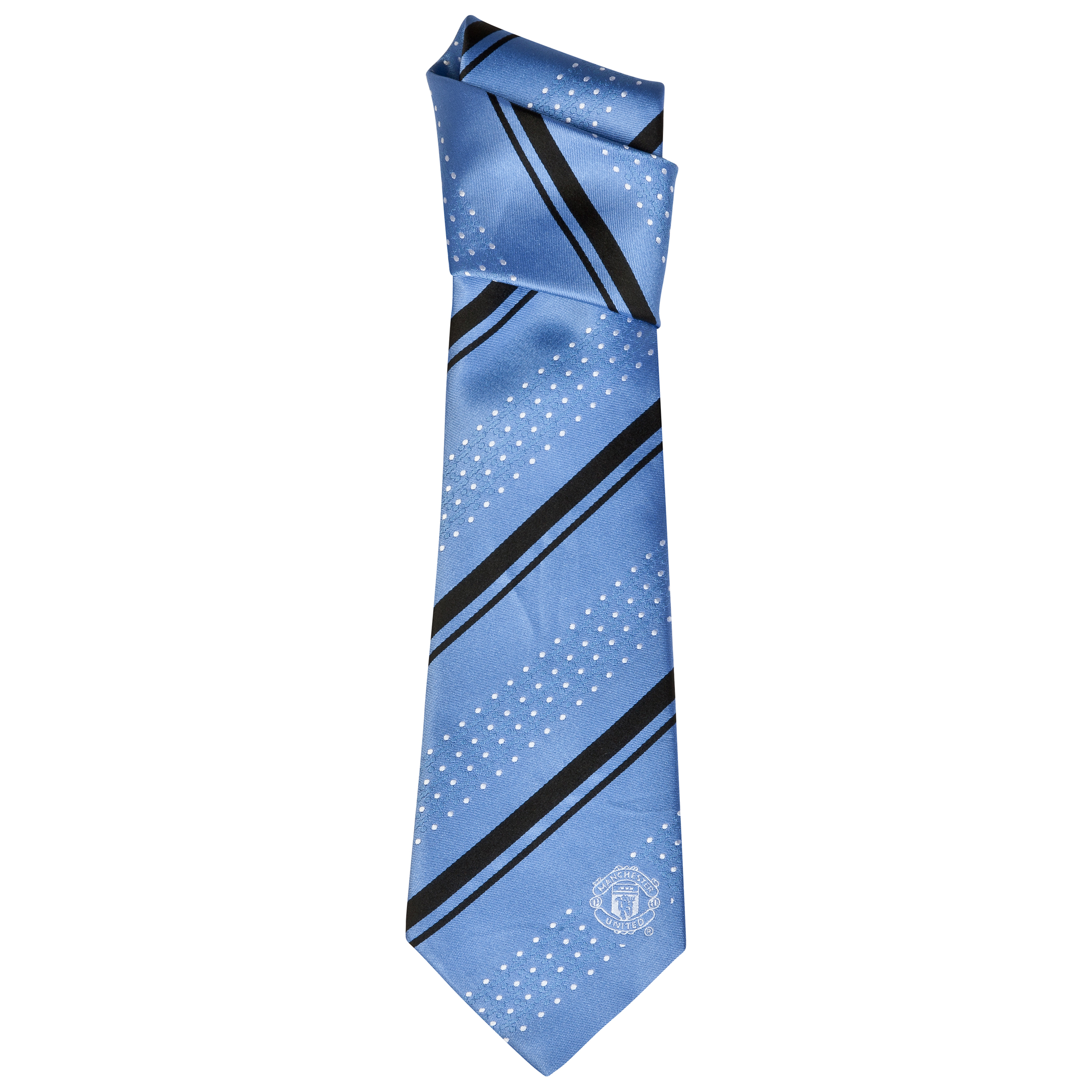 Manchester United Stripe Tie - Silk