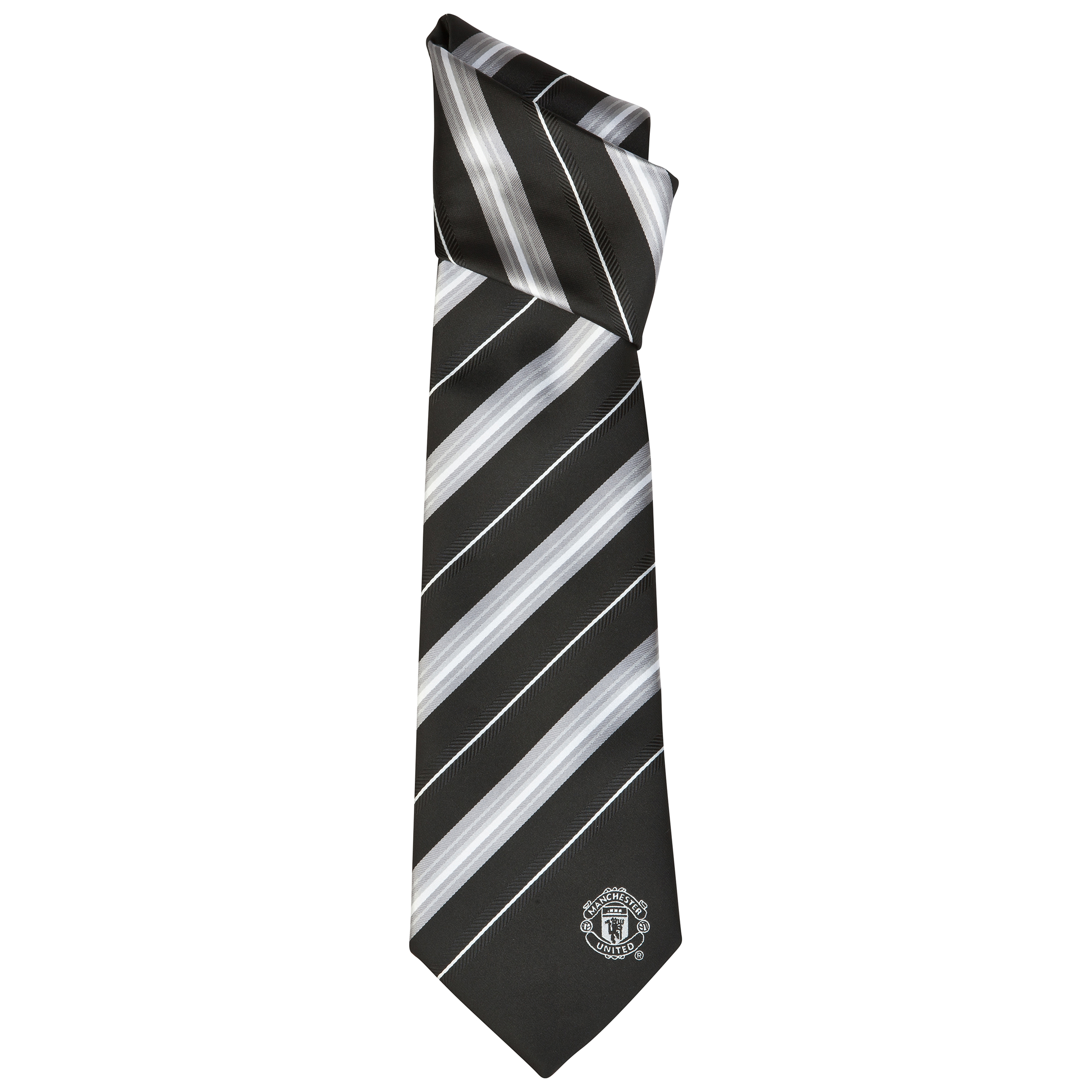 Manchester United Wide Stripe Tie - Polyester