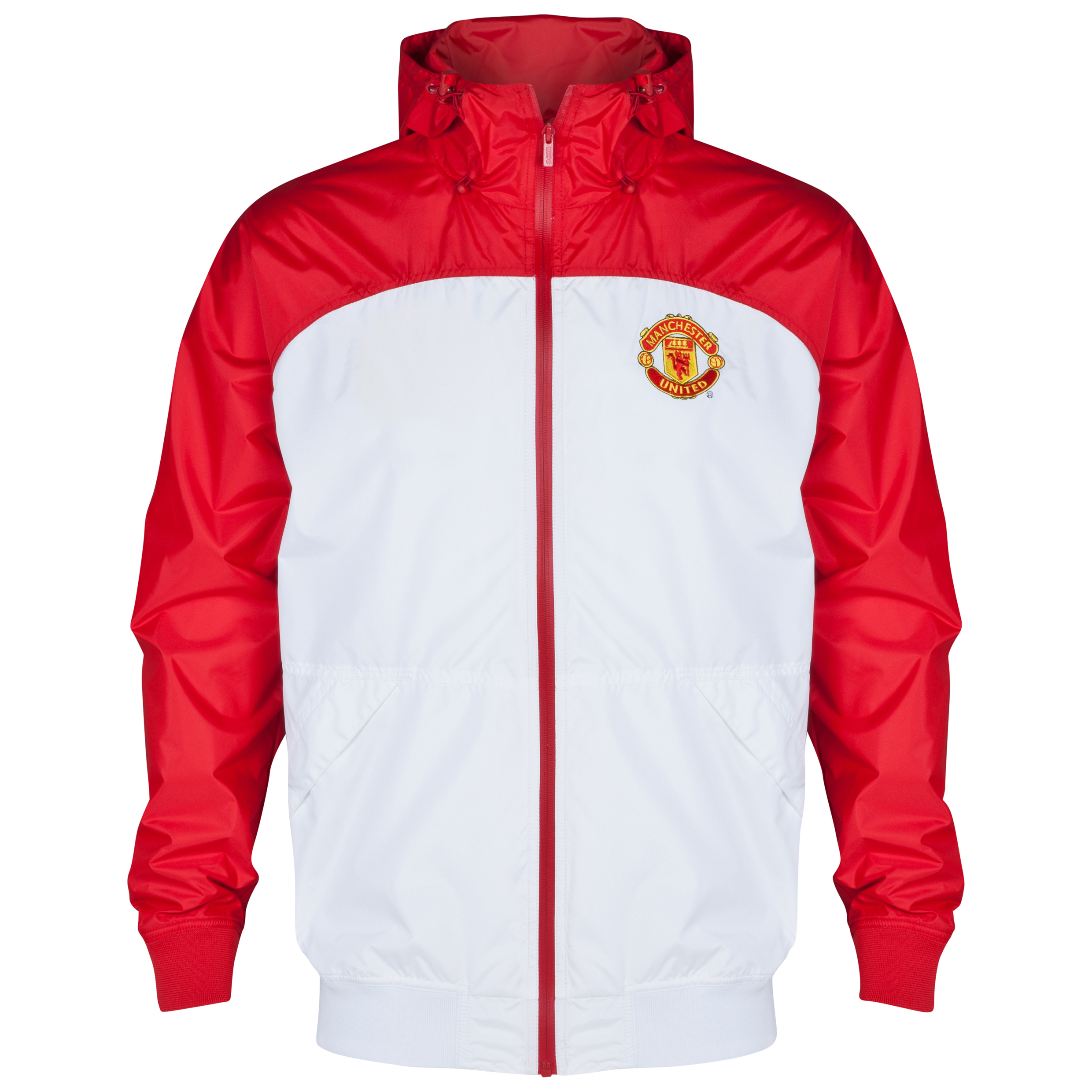 Manchester United Classic Shower Jacket - Mens Red