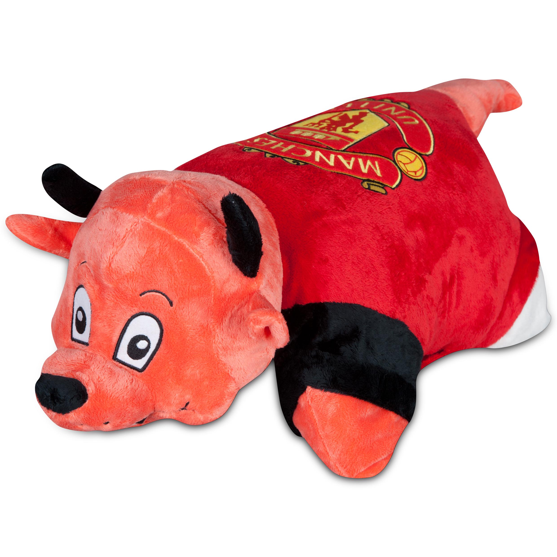 Manchester United Devil Pet Pillow