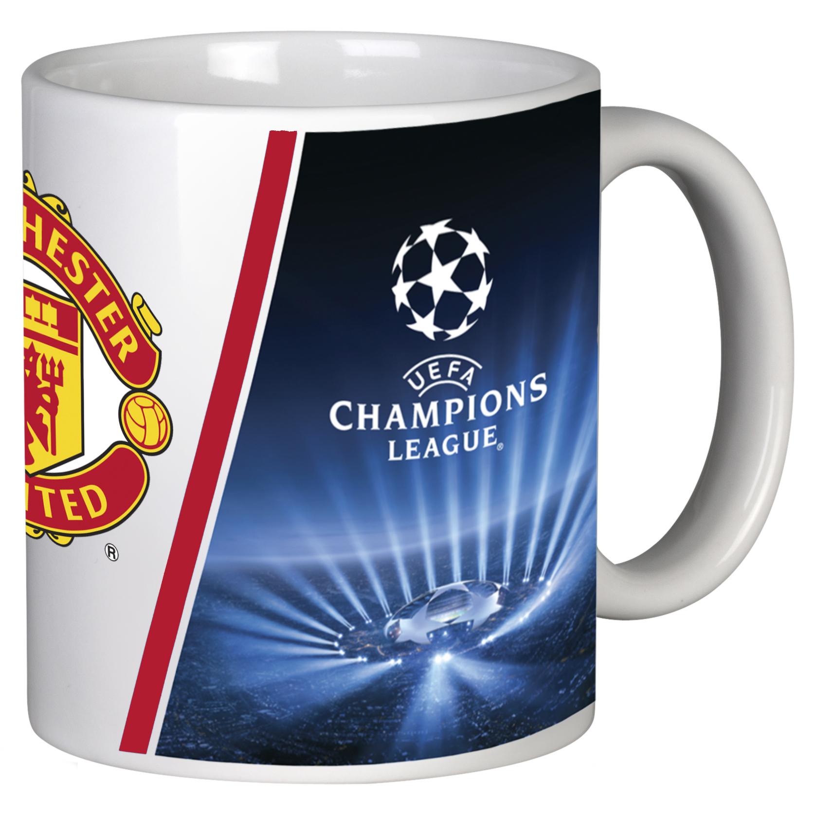 Manchester United UEFA Champions League Mug