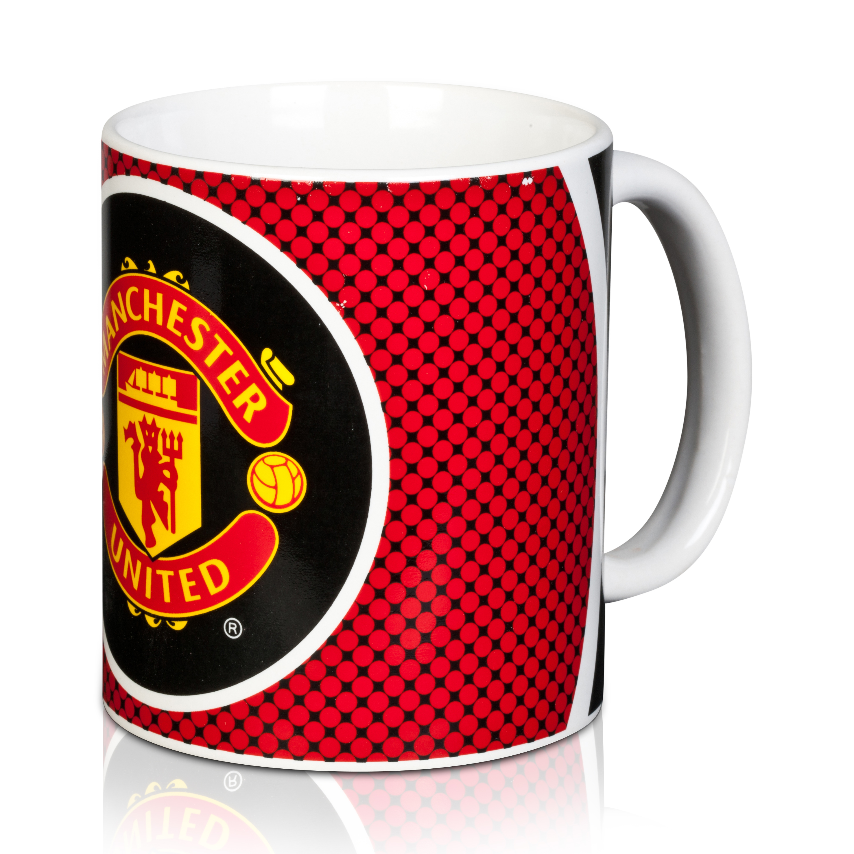 Manchester United Bullseye Mug