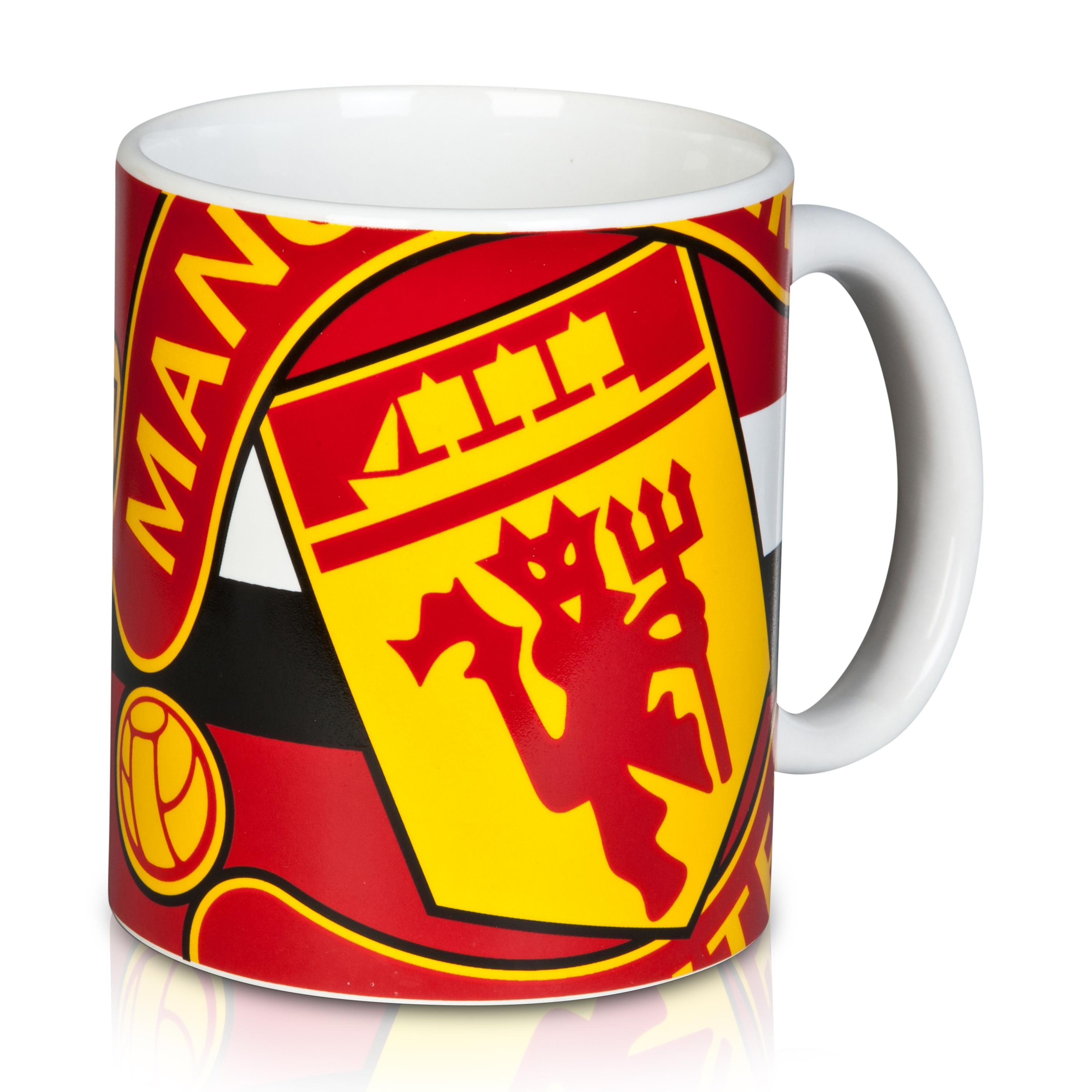 Manchester United Big Crest Mug
