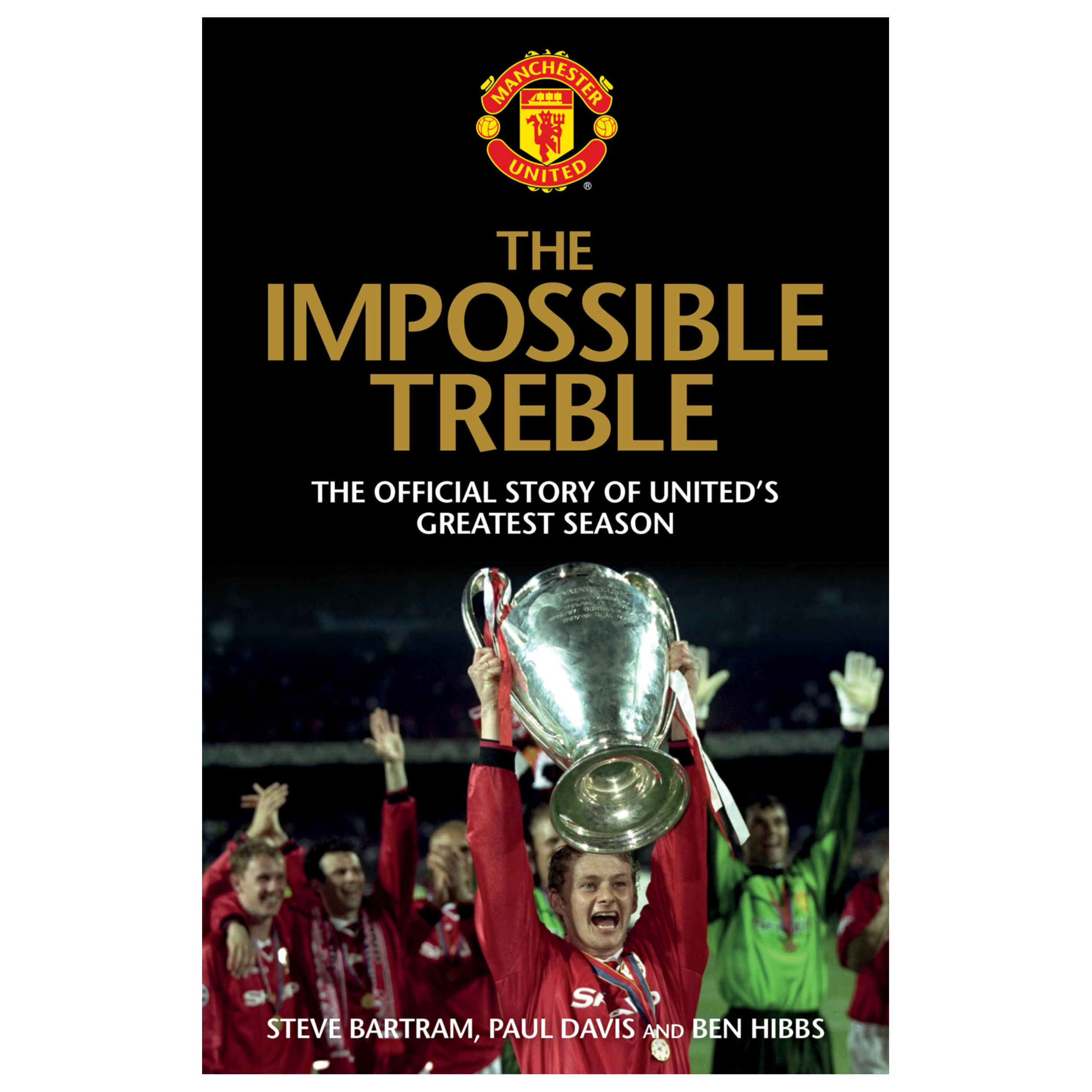 Manchester United The Impossible Treble Hardback Book