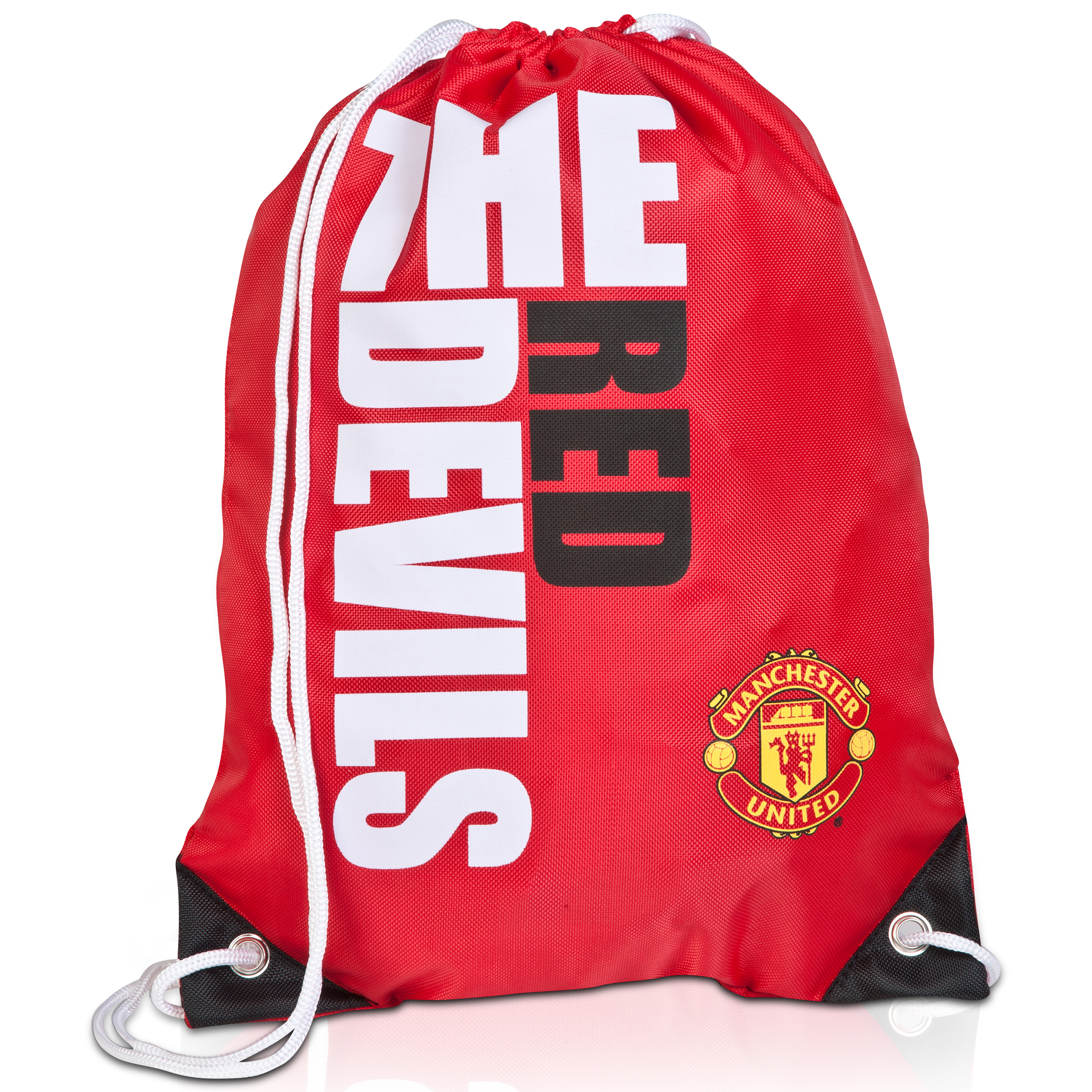 Manchester United Slogan Gym Bag