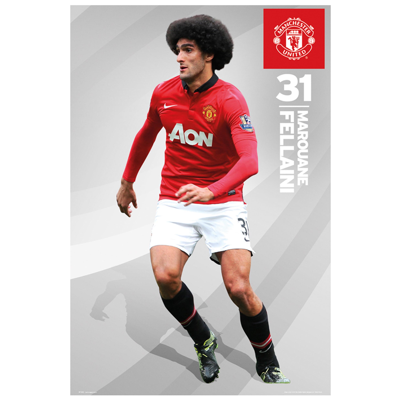 Manchester United 2013/14 Fellaini Poster - 61 x 92cm