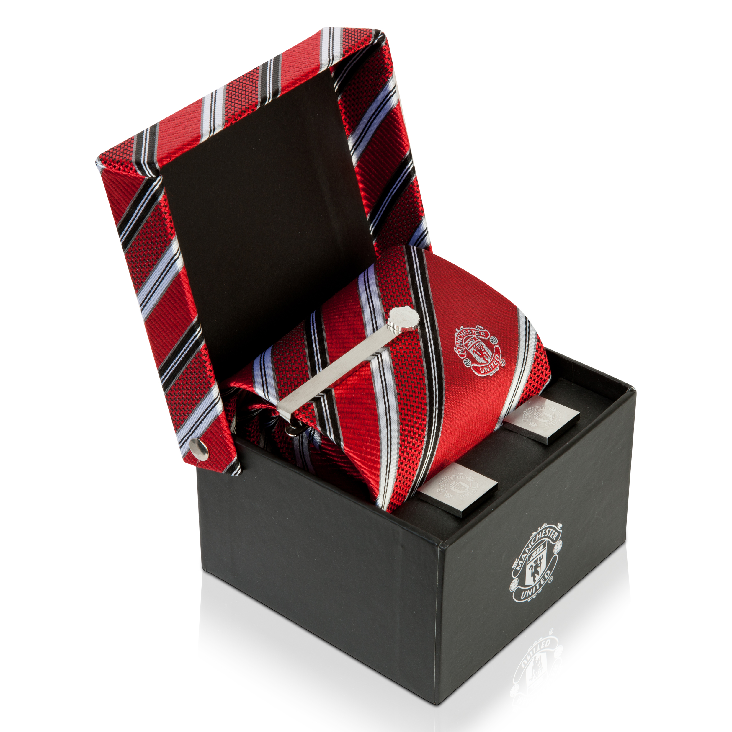 Manchester United Tie-Cufflink & Tie Slide Box Set