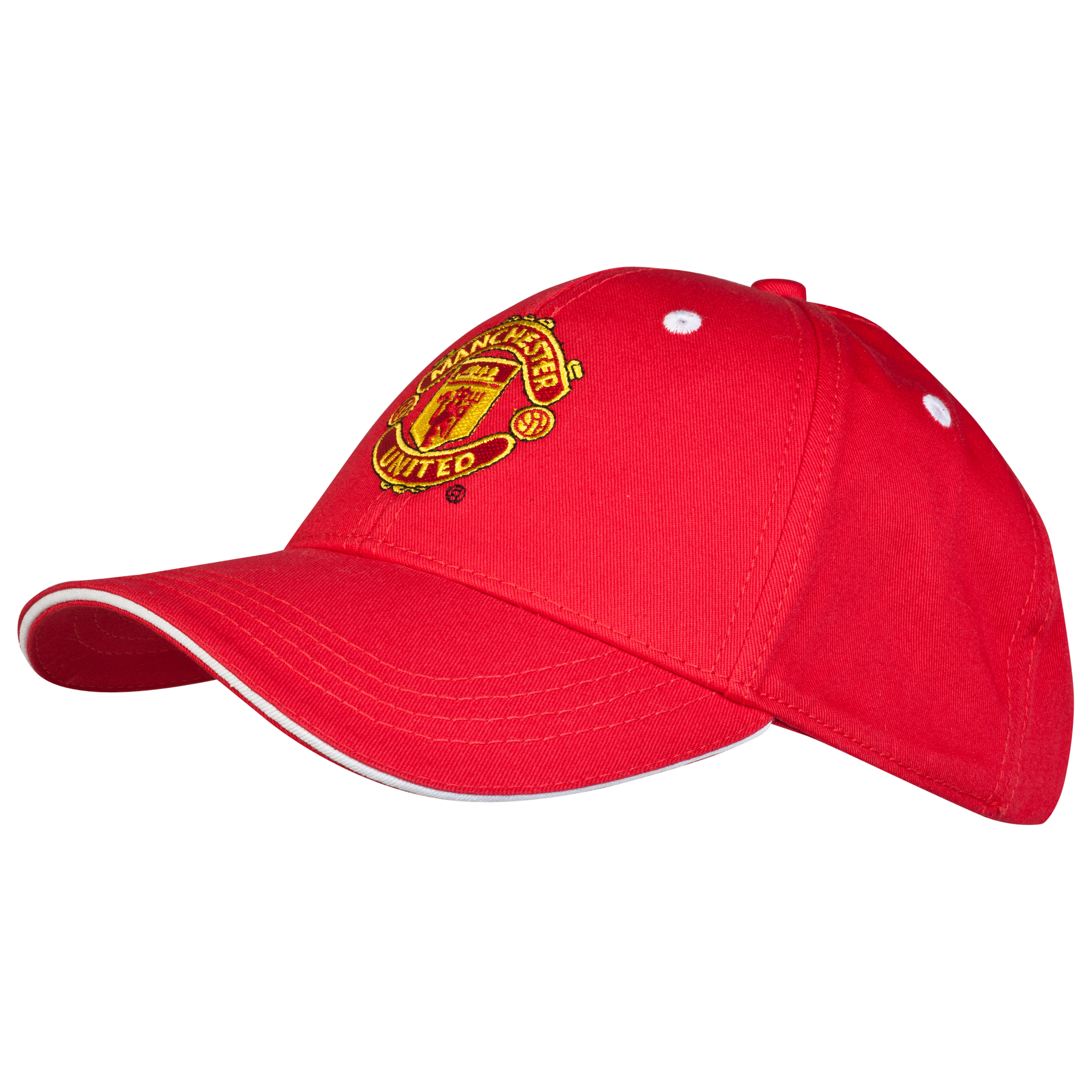 Manchester United Core Crest Cap - Adult Red