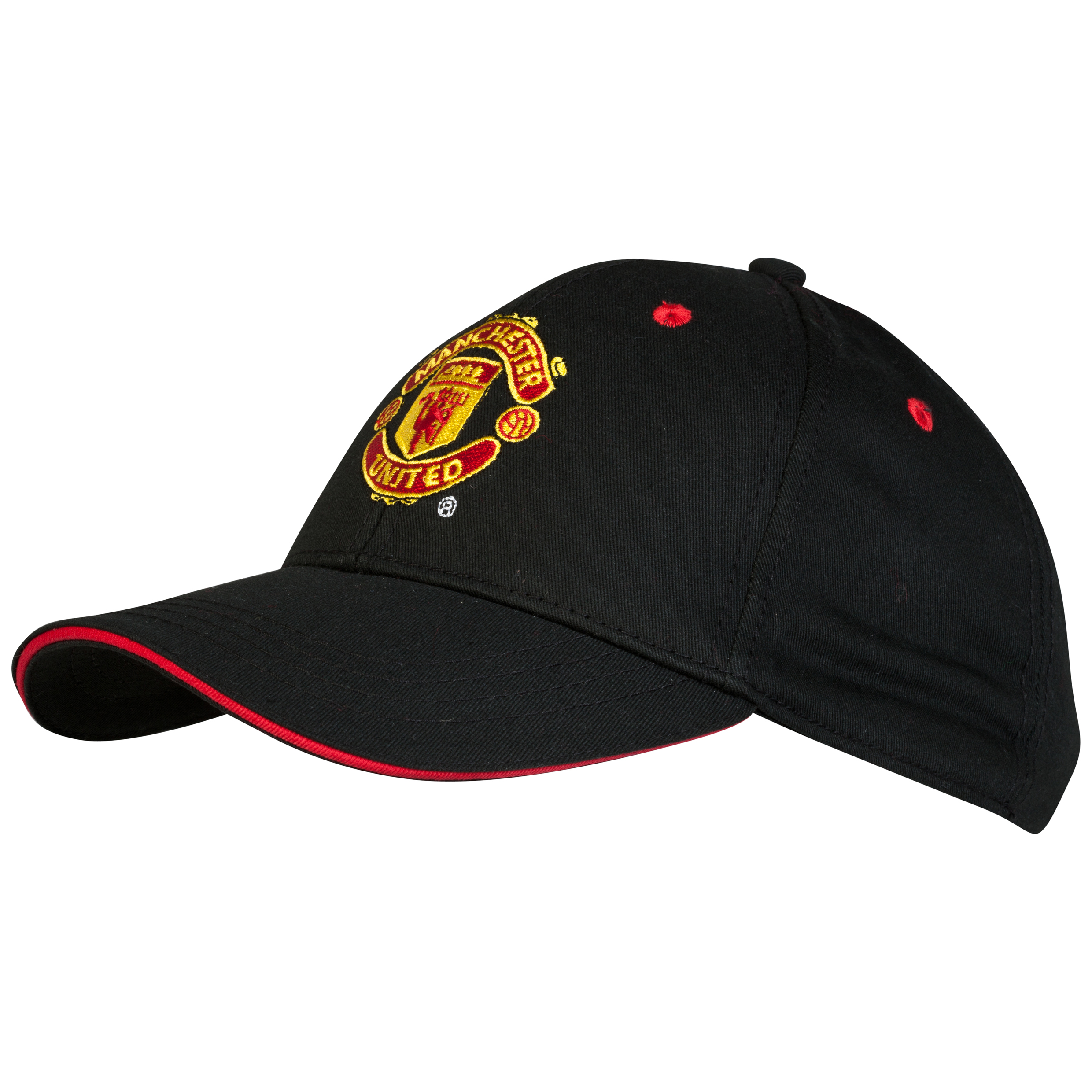 Manchester United Core Crest Cap - Adult Black