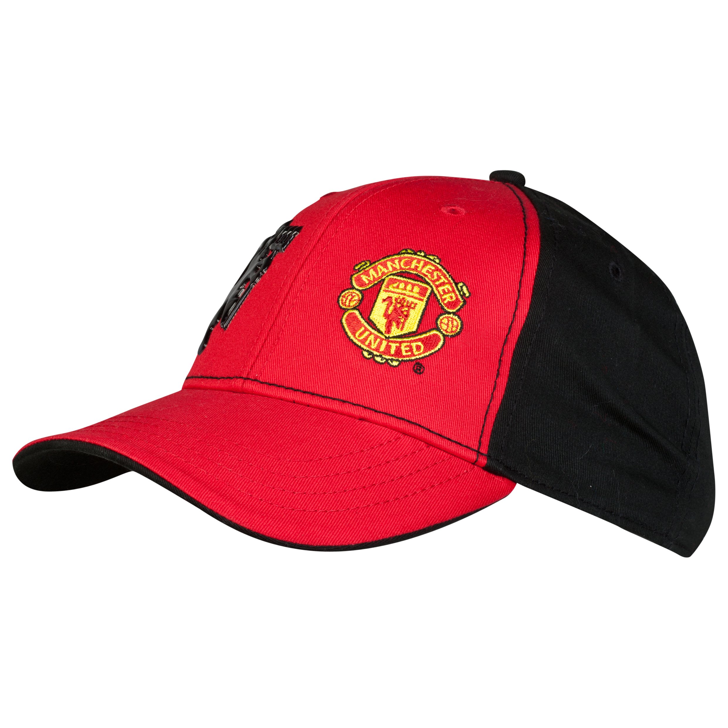 Manchester United Core Crest Aurora Cap - Junior Red
