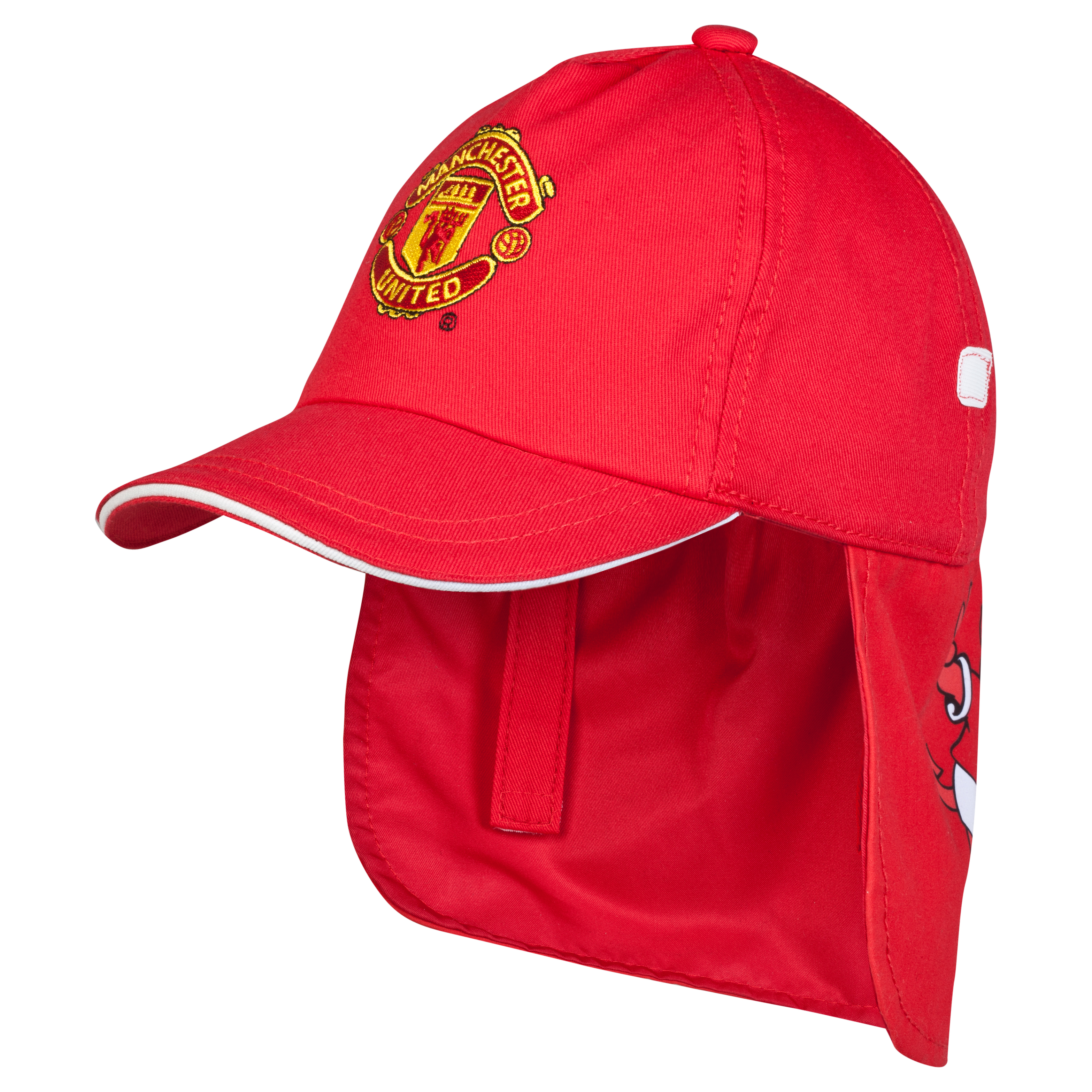 Manchester United Fred The Red Legionaire Cap - Infant Red