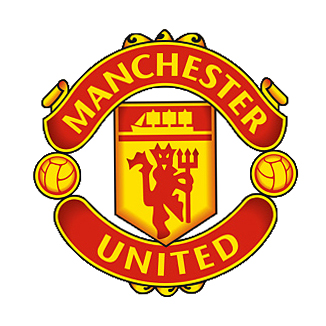 Manchester United Real Big Crest Logo Wall Sticker - 38inch x 38inch