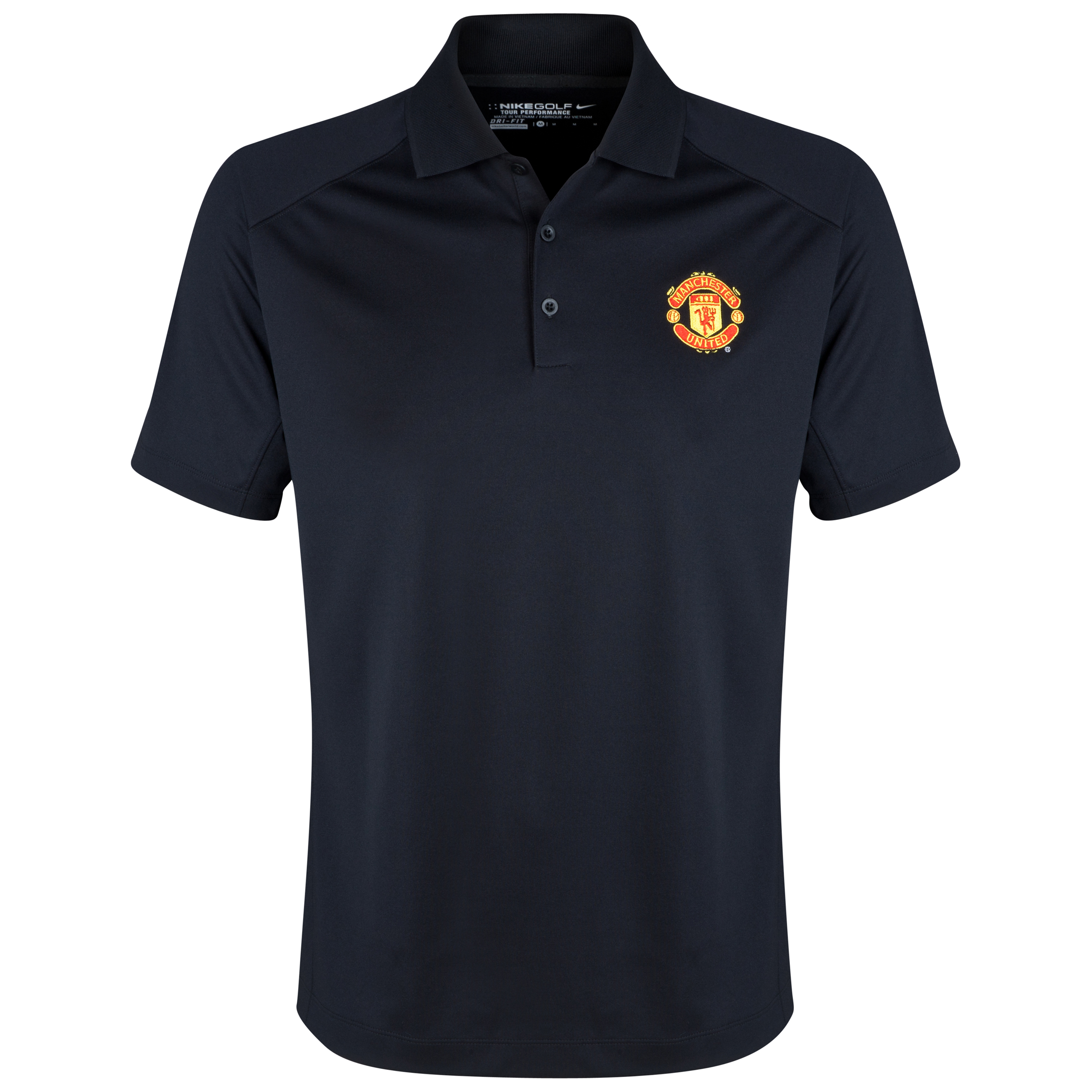 Manchester United Nike Golf Victory Polo Black