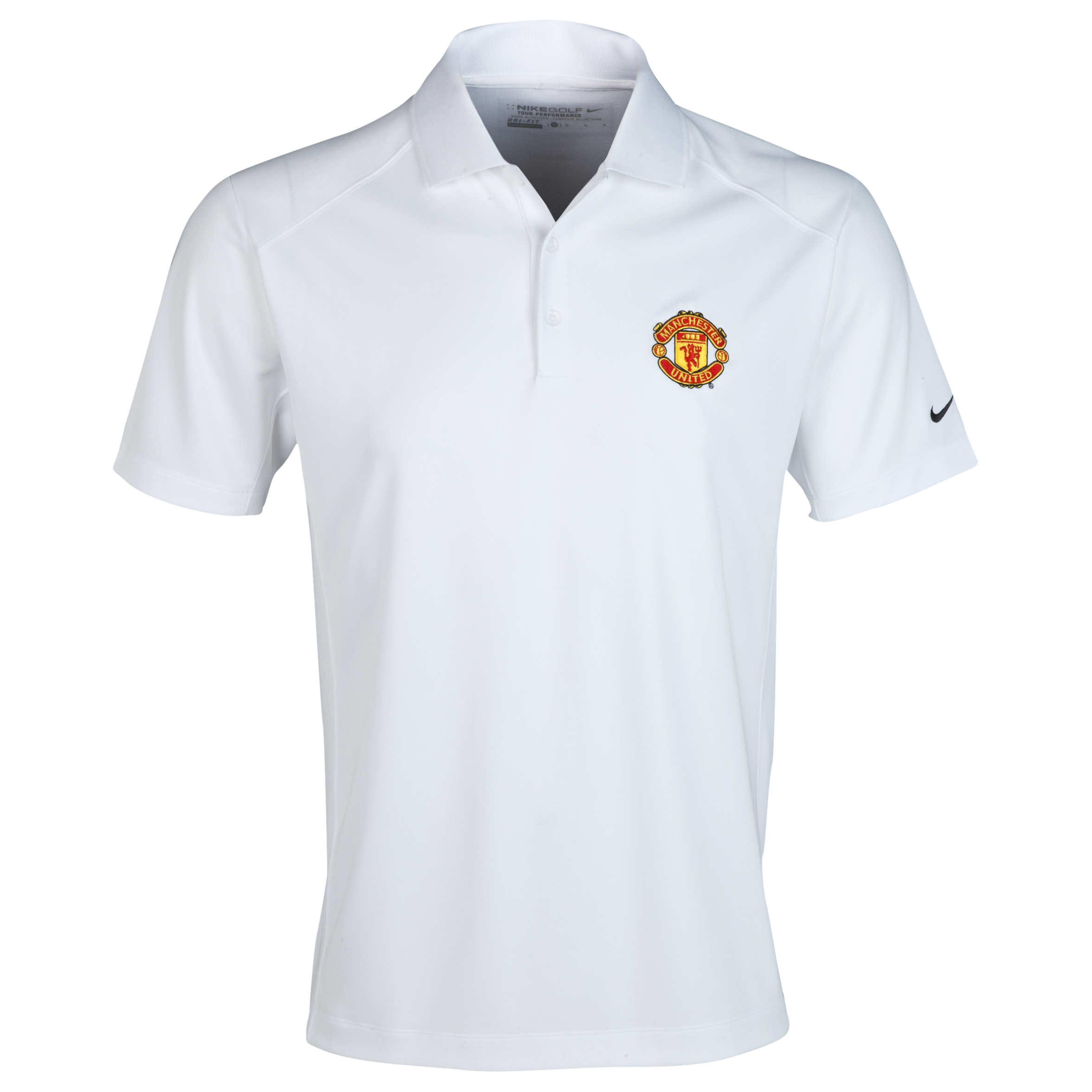 Manchester United Nike Golf Victory Polo White
