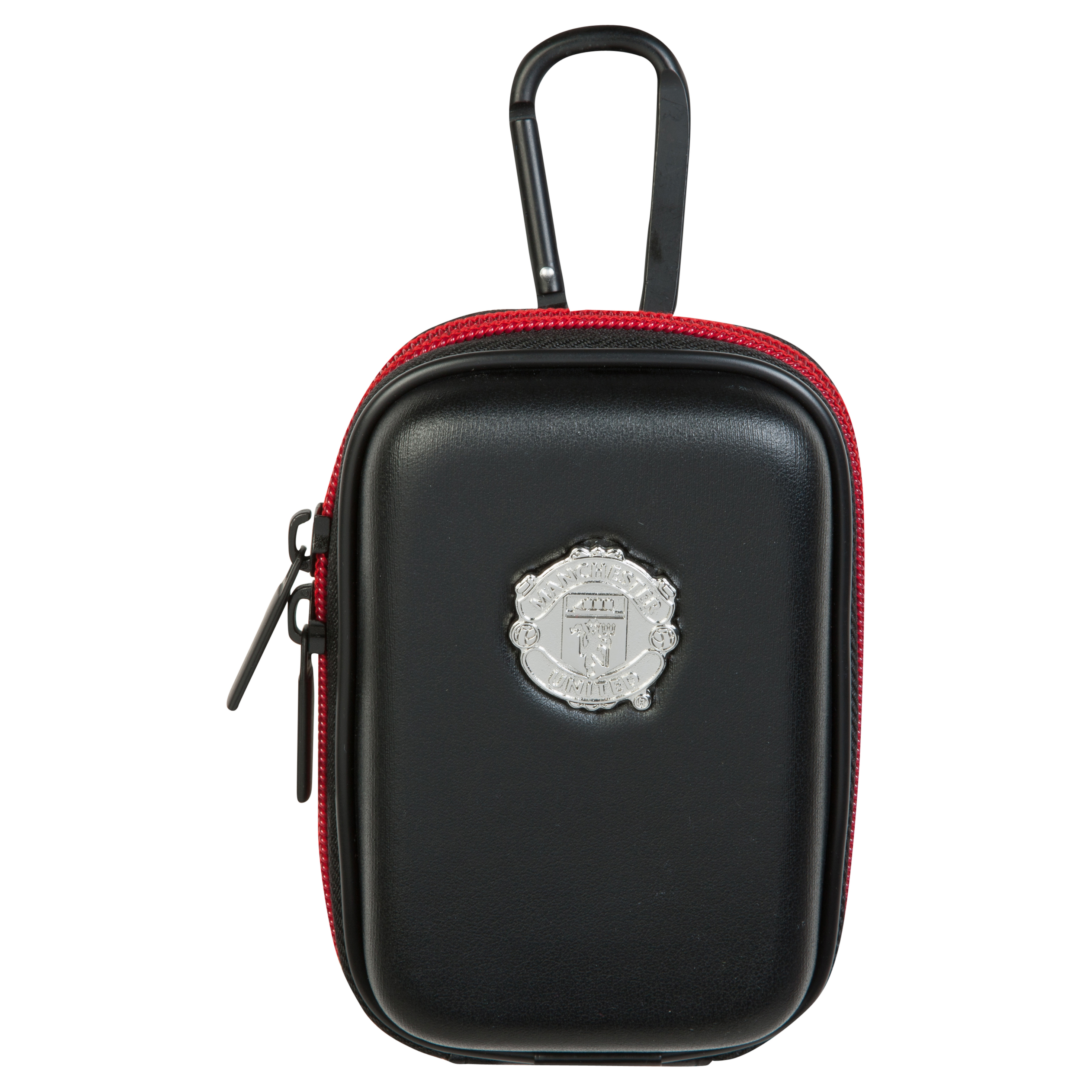 Manchester United PU Leather Digital Camera Cover with Lanyard