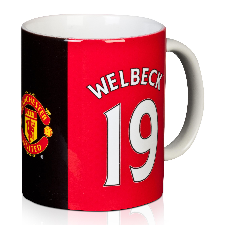 Image of Manchester United Welbeck Mug, Red