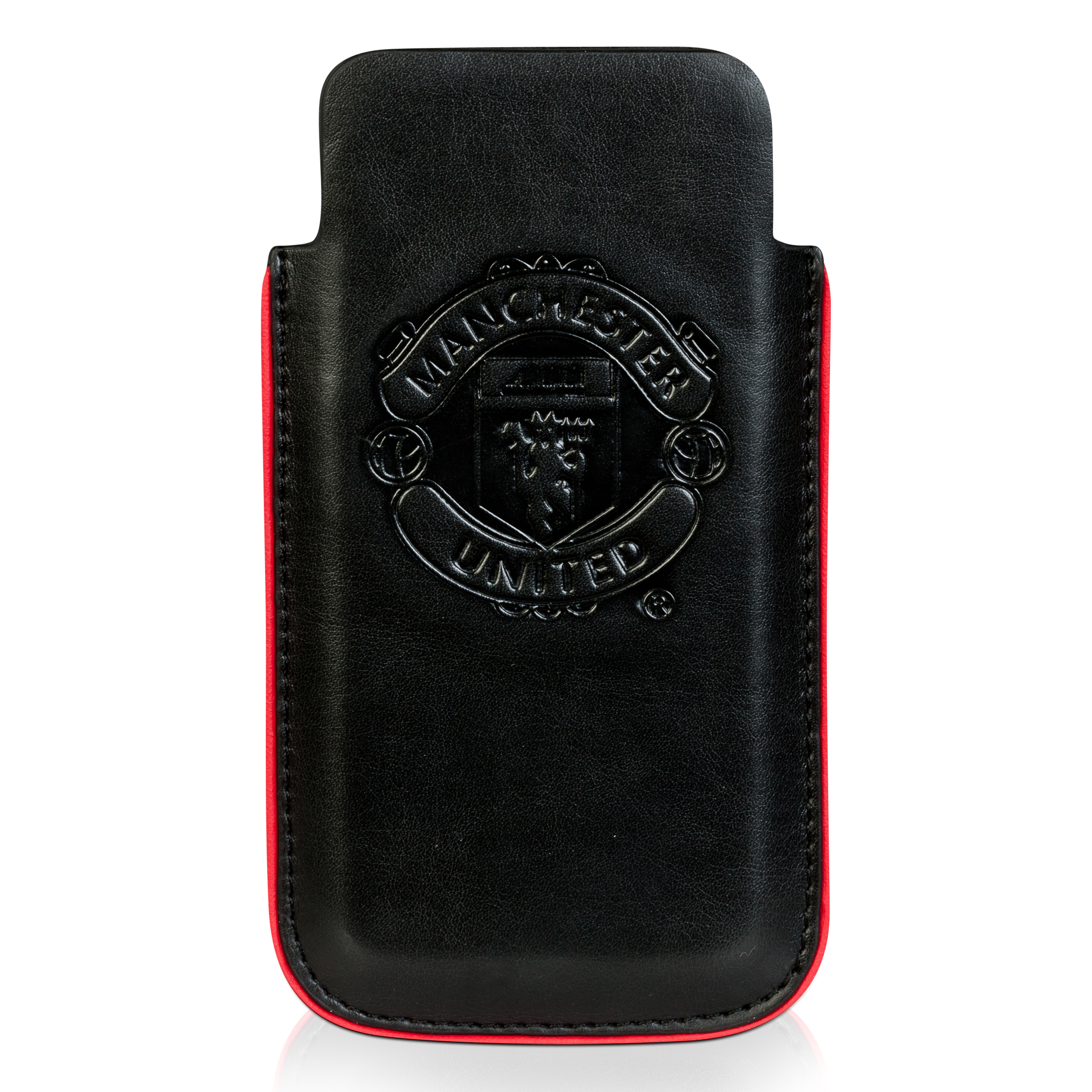 Manchester United PU Leather iPhone 5 Phone Cover