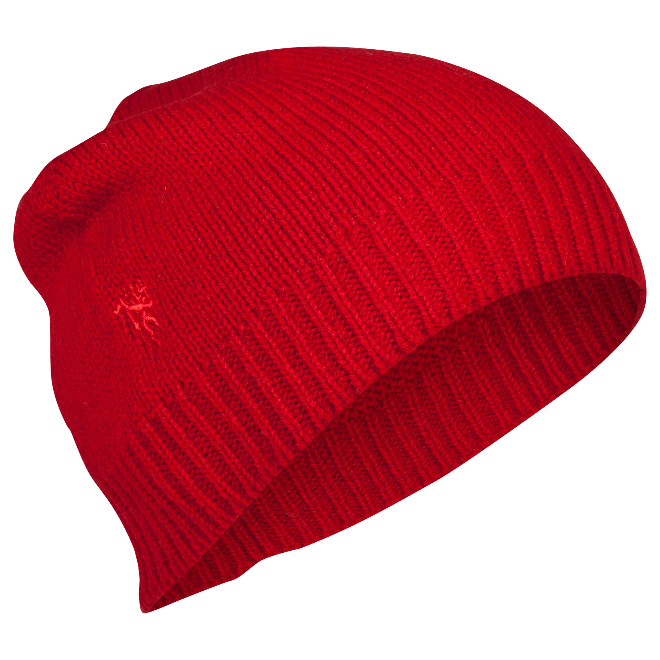 Manchester United Lambswool Hat - Adult Red