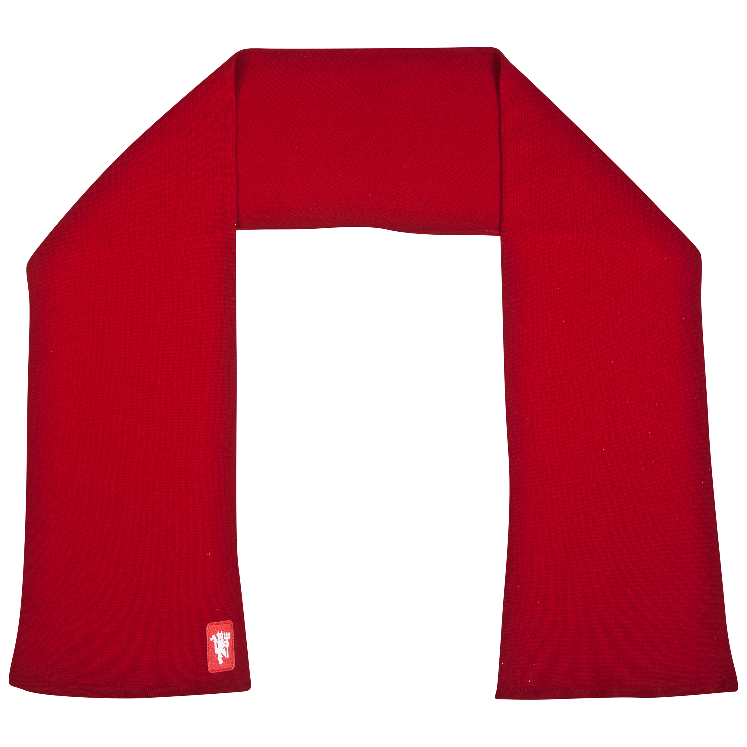 Manchester United Lambswool Scarf - Adult Red