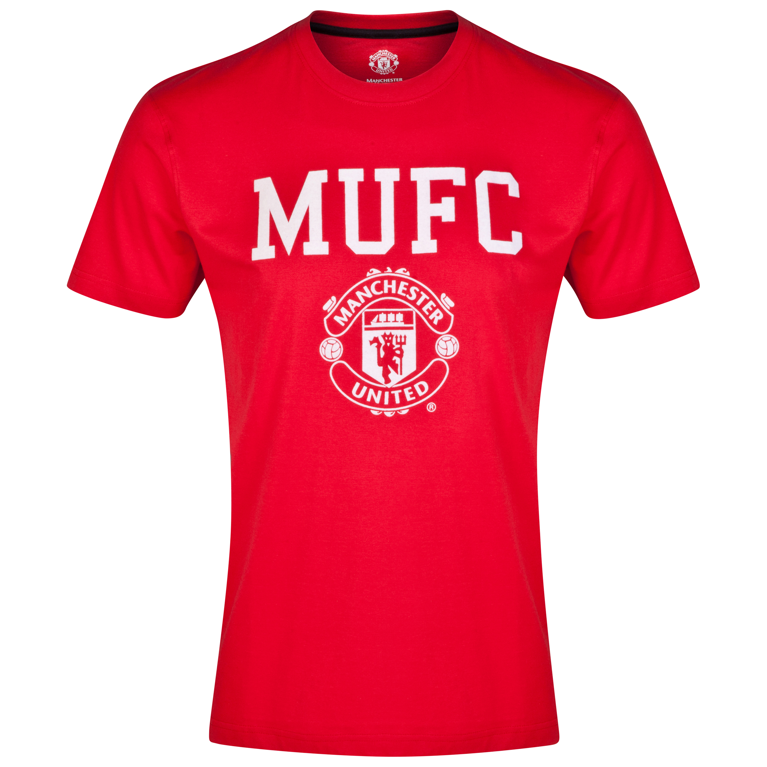 Manchester United Classic T-Shirt - Red - Mens