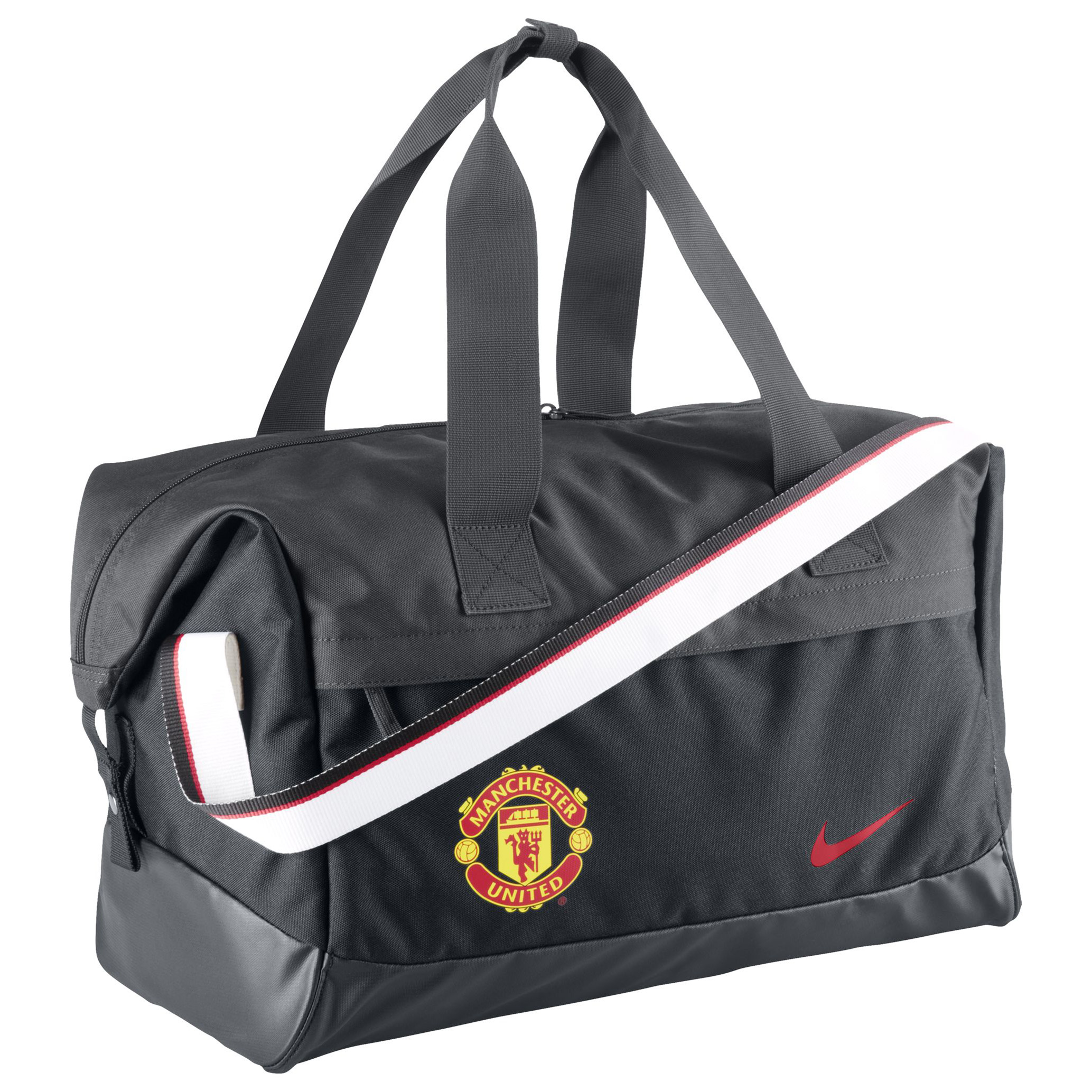 Manchester United Allegiance Shield Compact Duffle Bag 14/15-Black