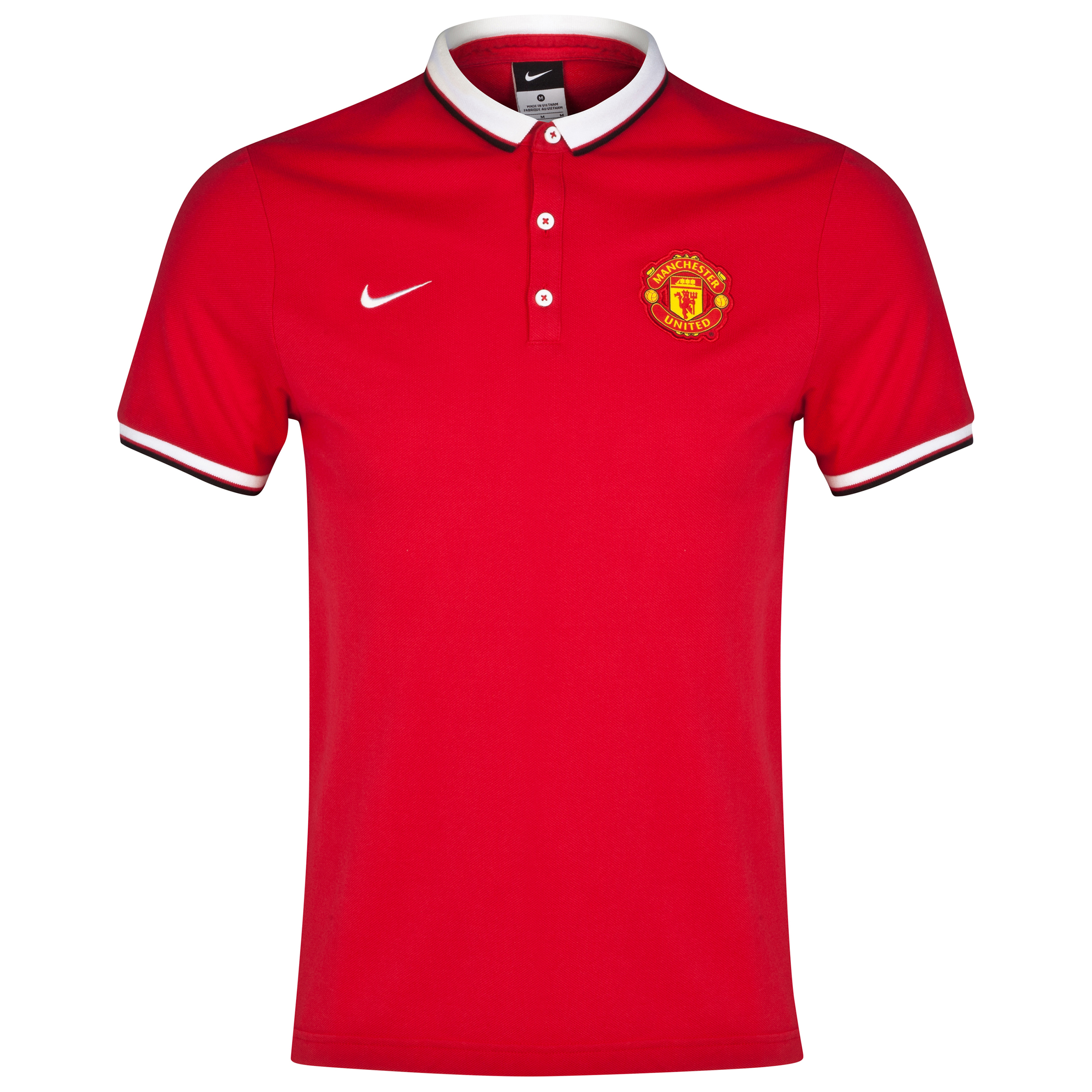 Manchester United League Authentic Polo-Red