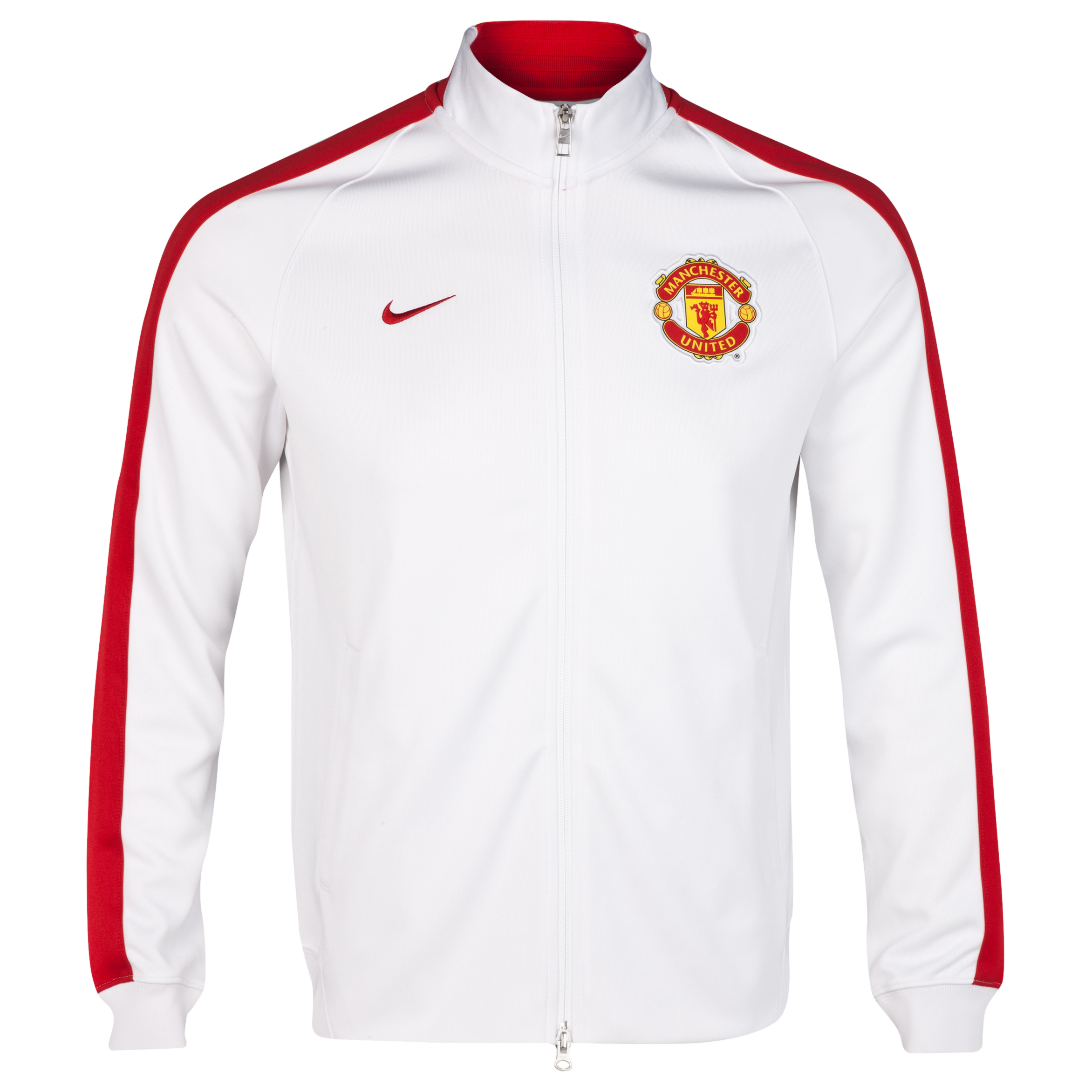 Manchester United Authentic N98 Jacket-White