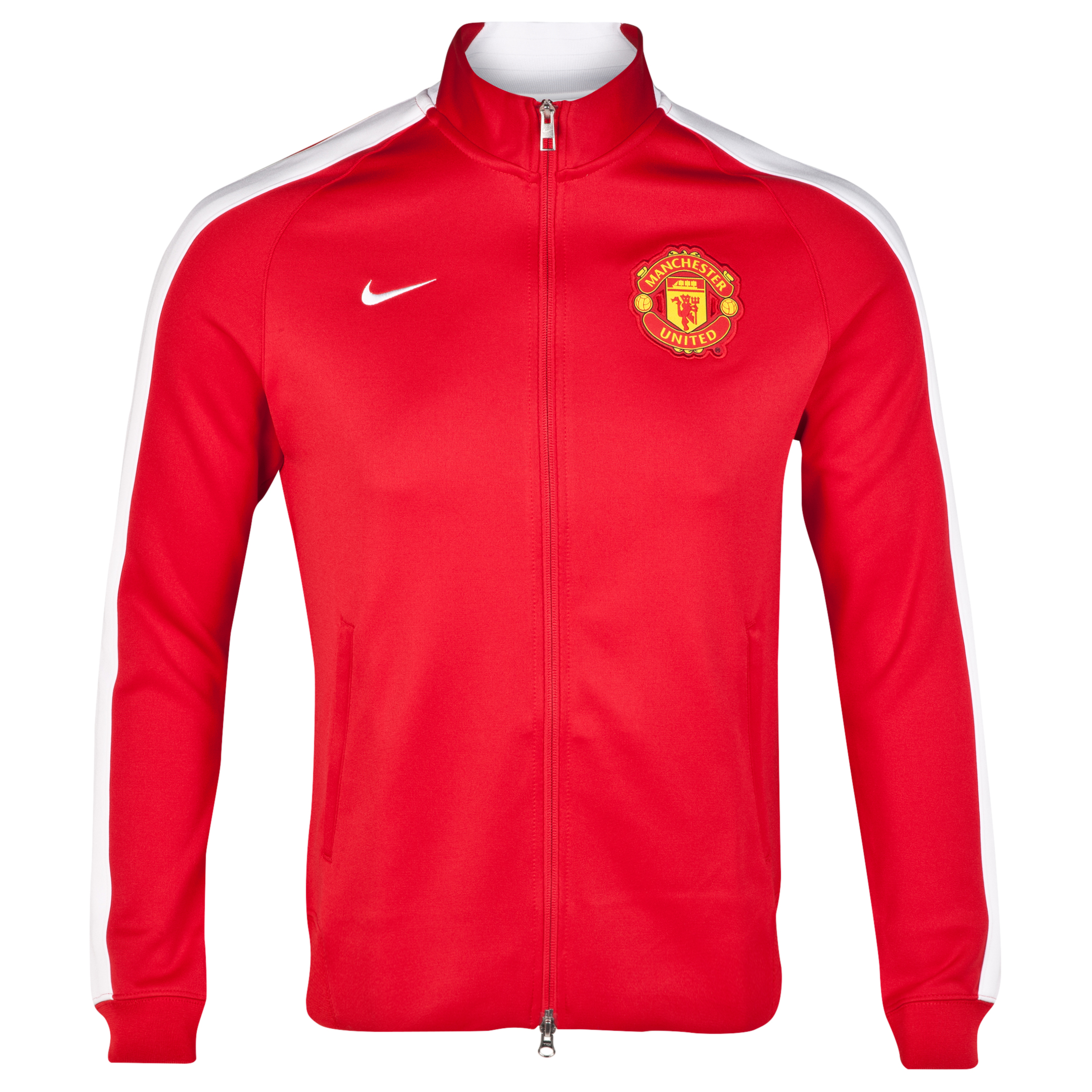 Manchester United Authentic N98 Jacket-Red