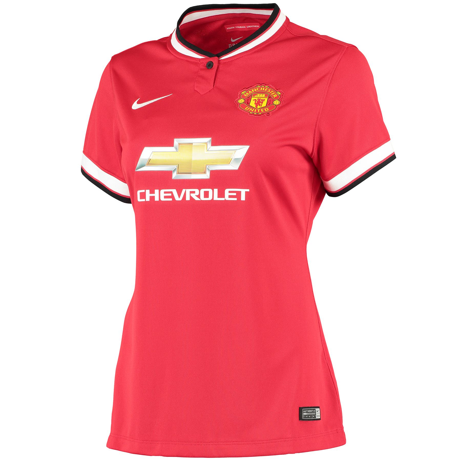 Manchester United Home Shirt 2014/15 - Womens