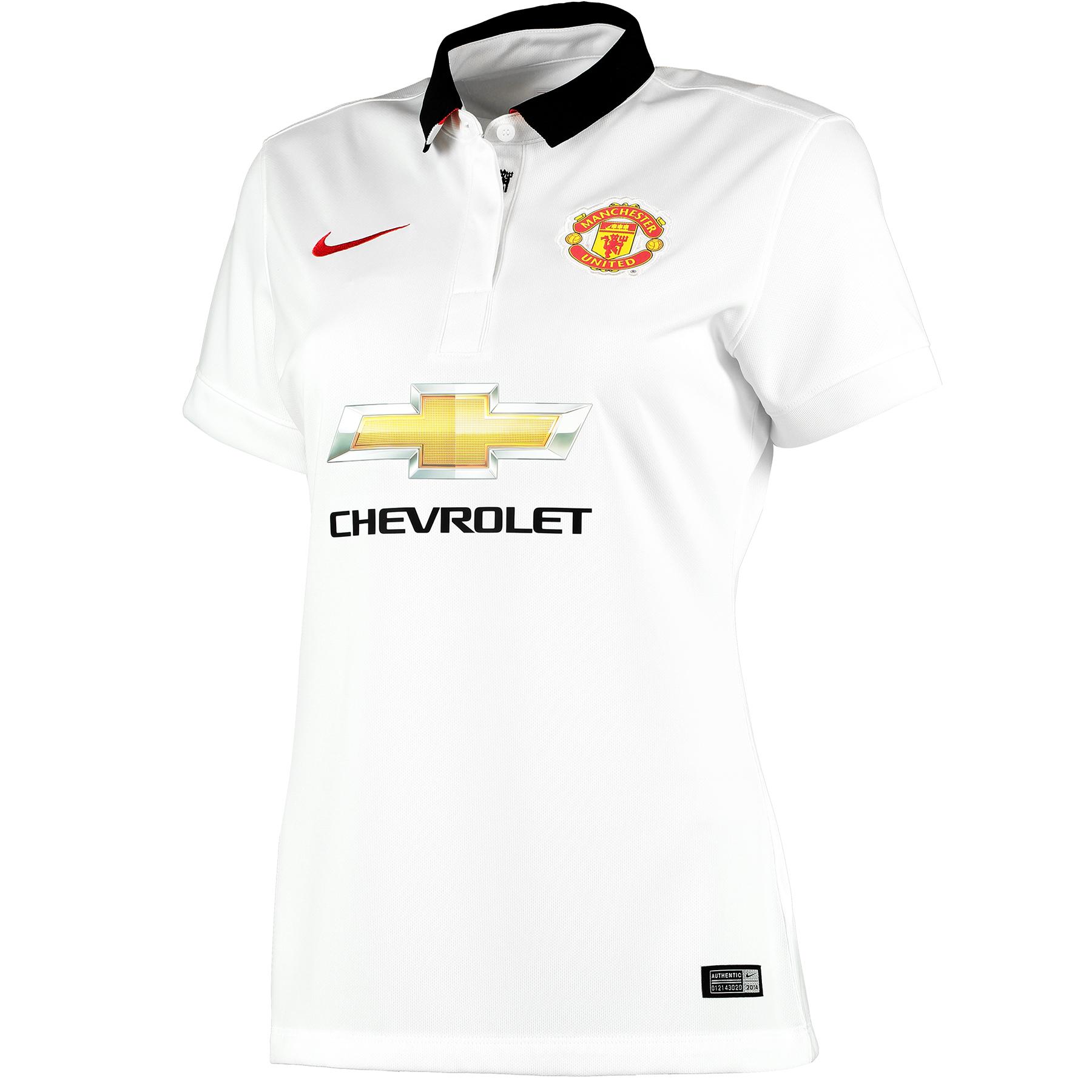Manchester United Away Shirt 2014/15 - Womens