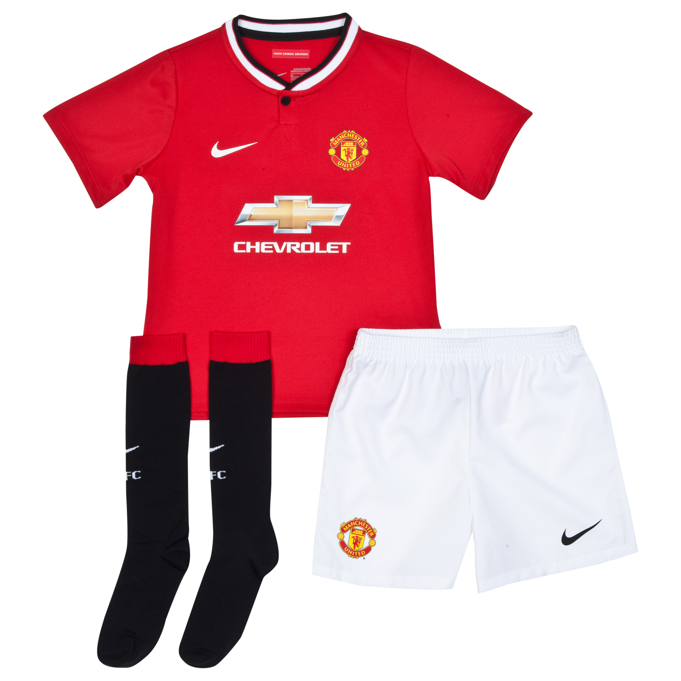 Manchester United Home Kit 2014/15 - Little Boys