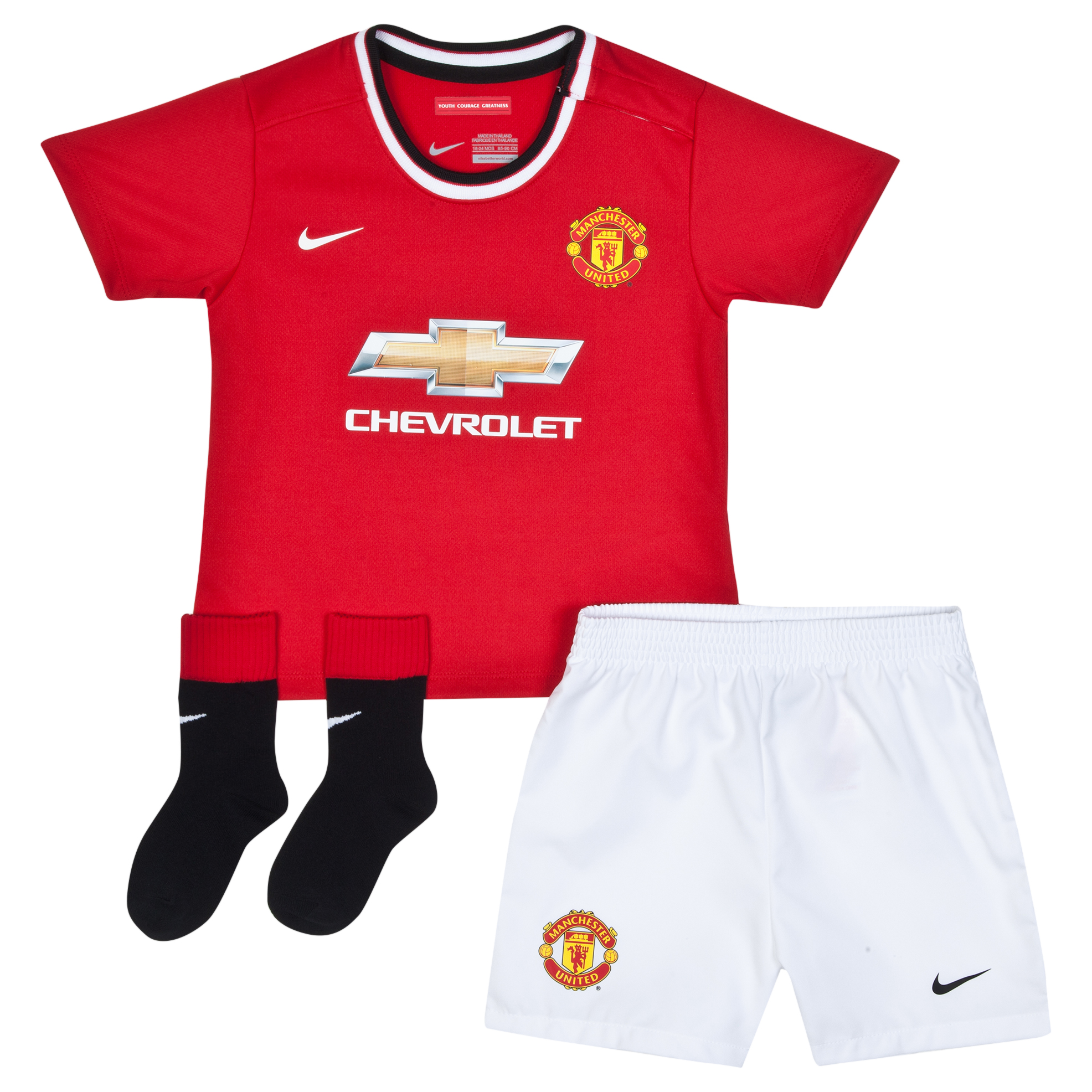Manchester United Home Kit 2014/15 - Infants