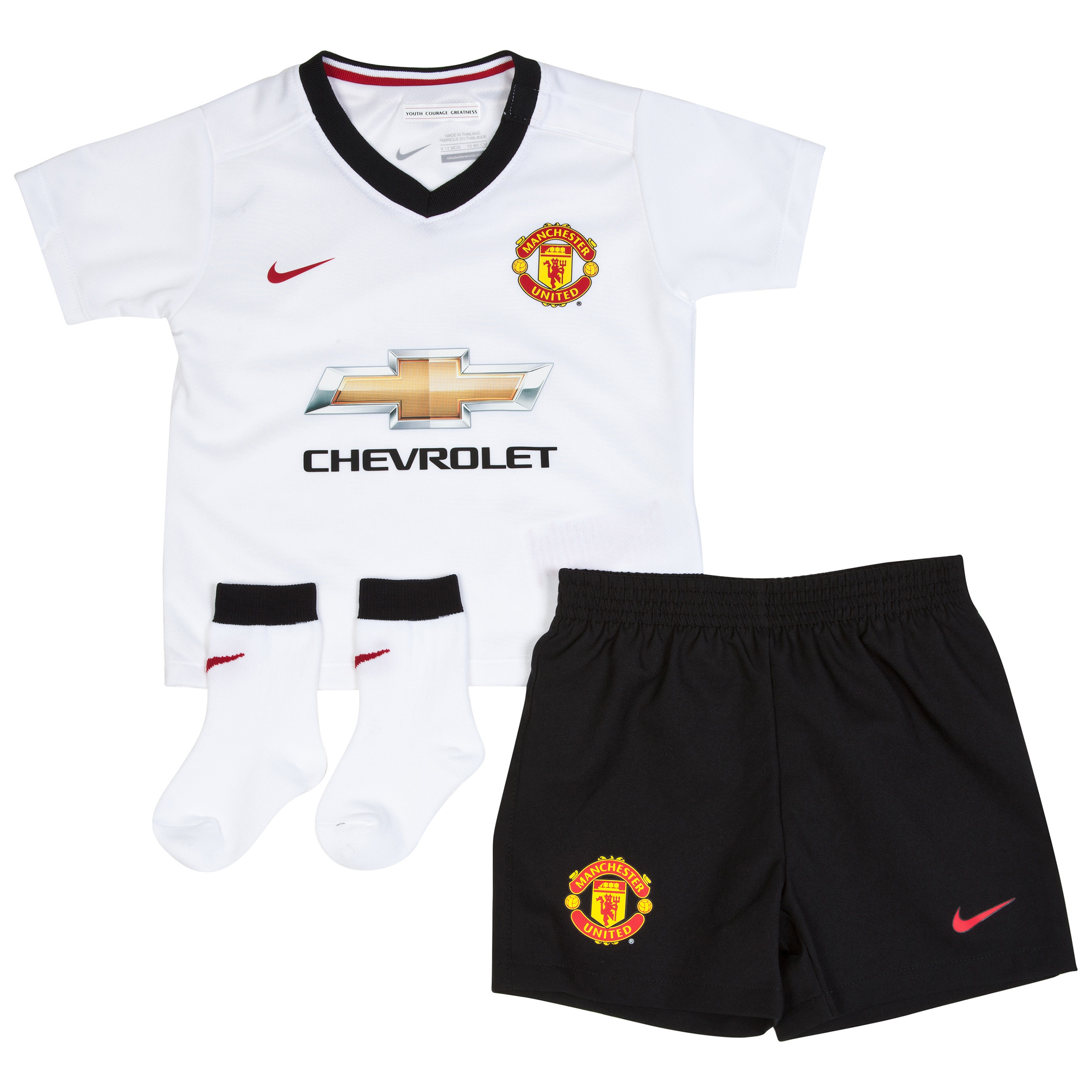 Manchester United Away Kit 2014/15 - Infants