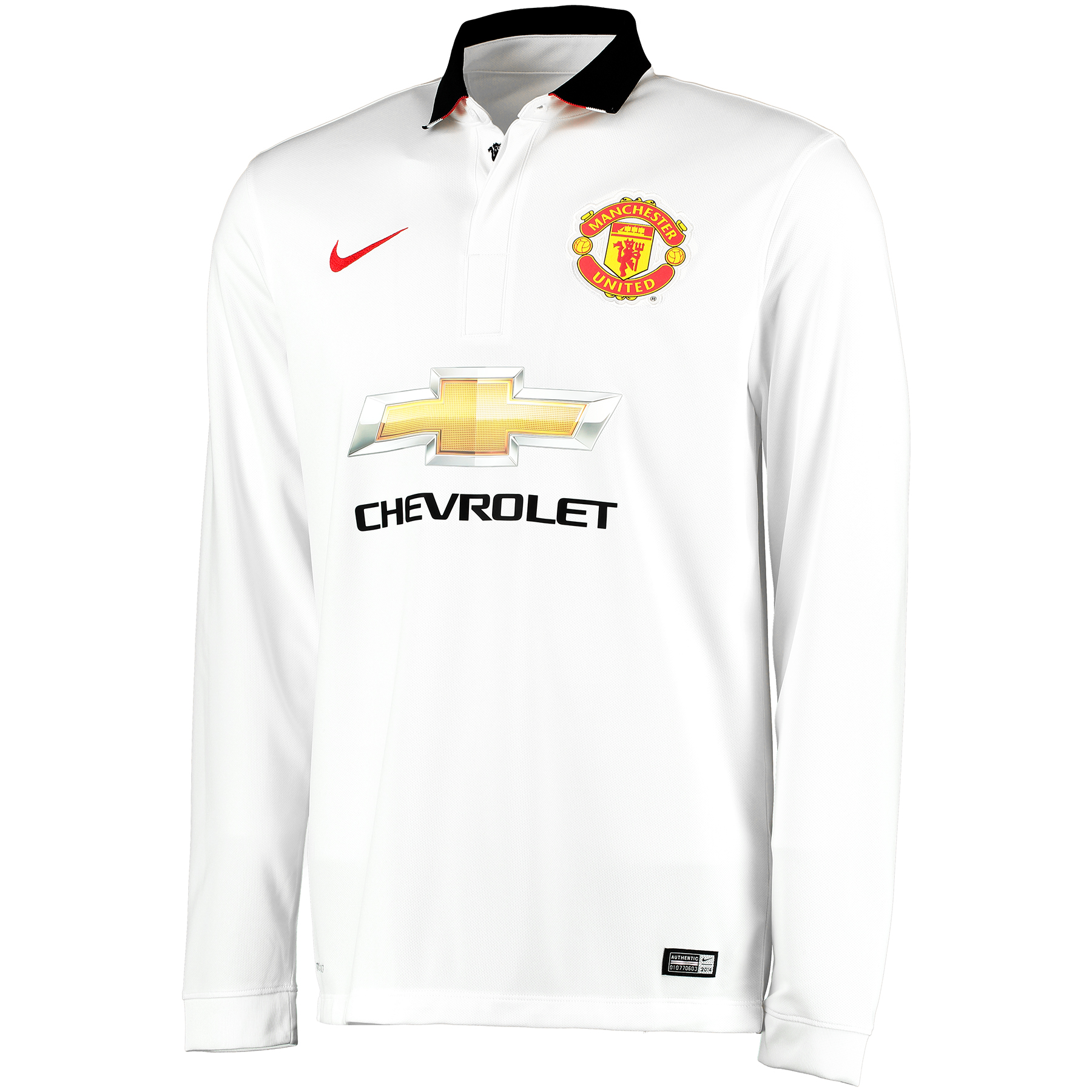 Manchester United Away Shirt 2014/15 - Long Sleeve