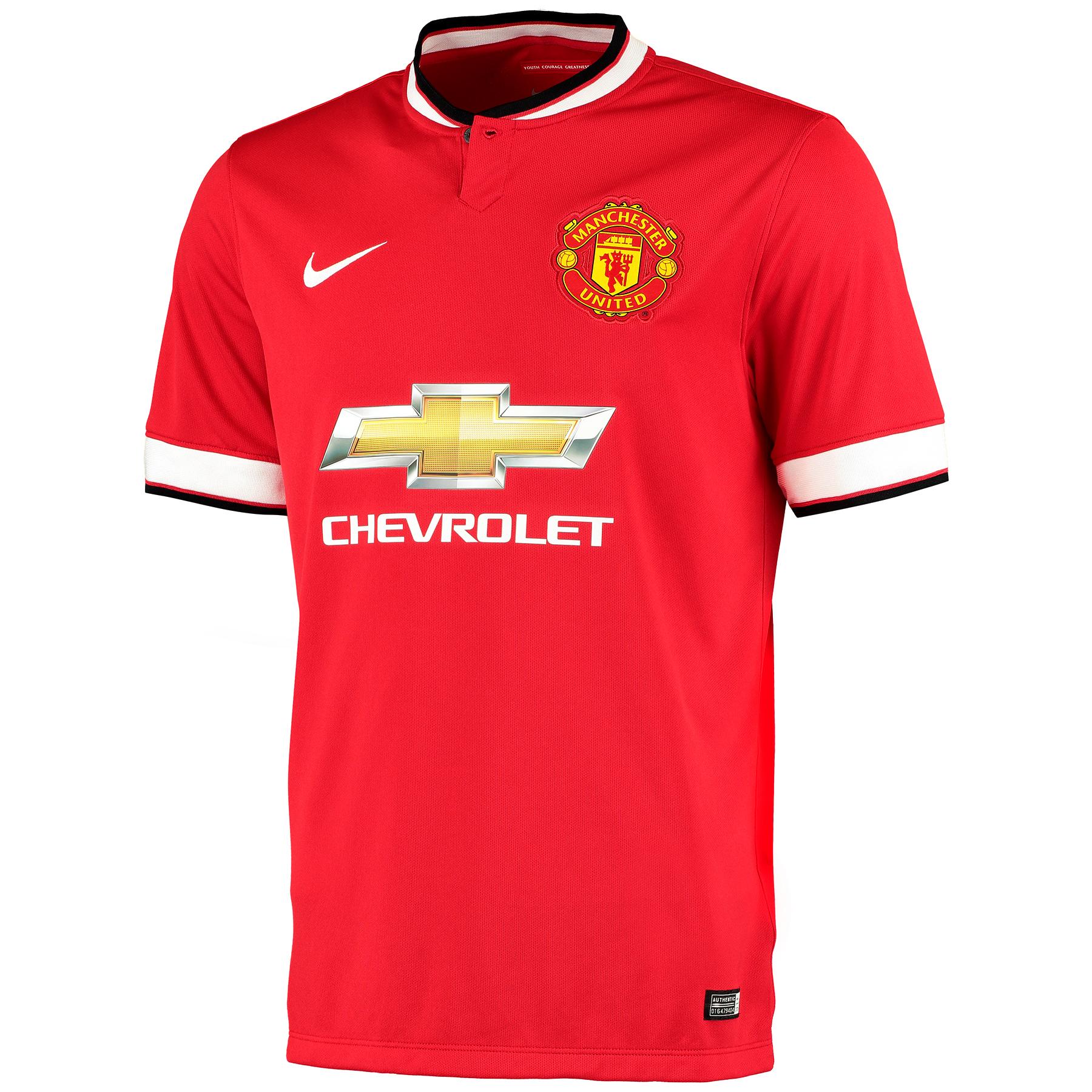 Manchester United Home Shirt 2014/15 - Kids