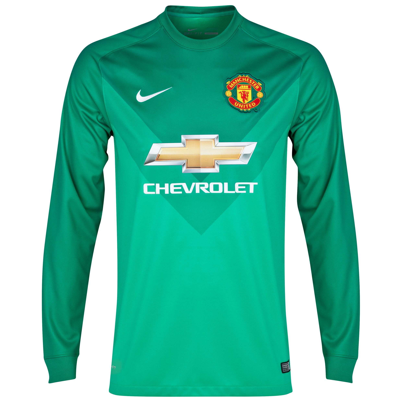 Manchester United Goalkeeper Shirt 201415  Kids