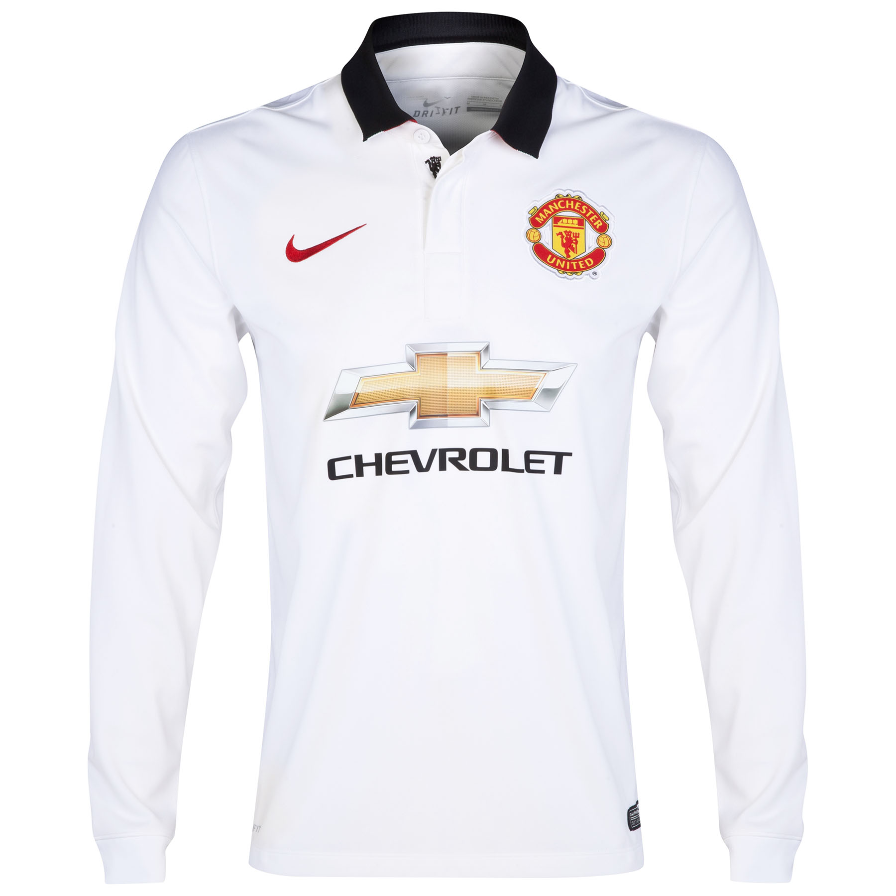 Manchester United Away Shirt 2014/15 - Long Sleeve - Kids