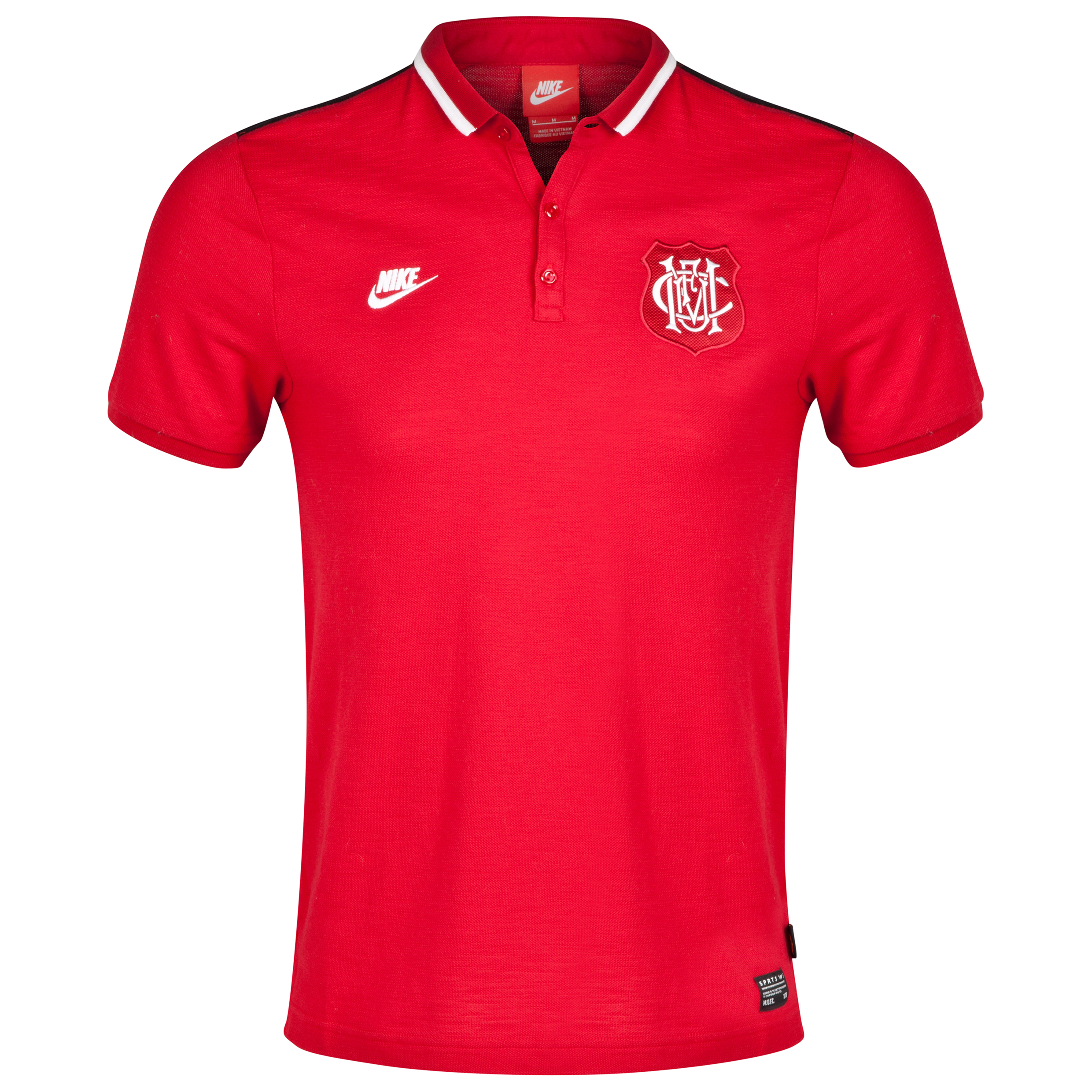 Manchester United Covert Polo-Red