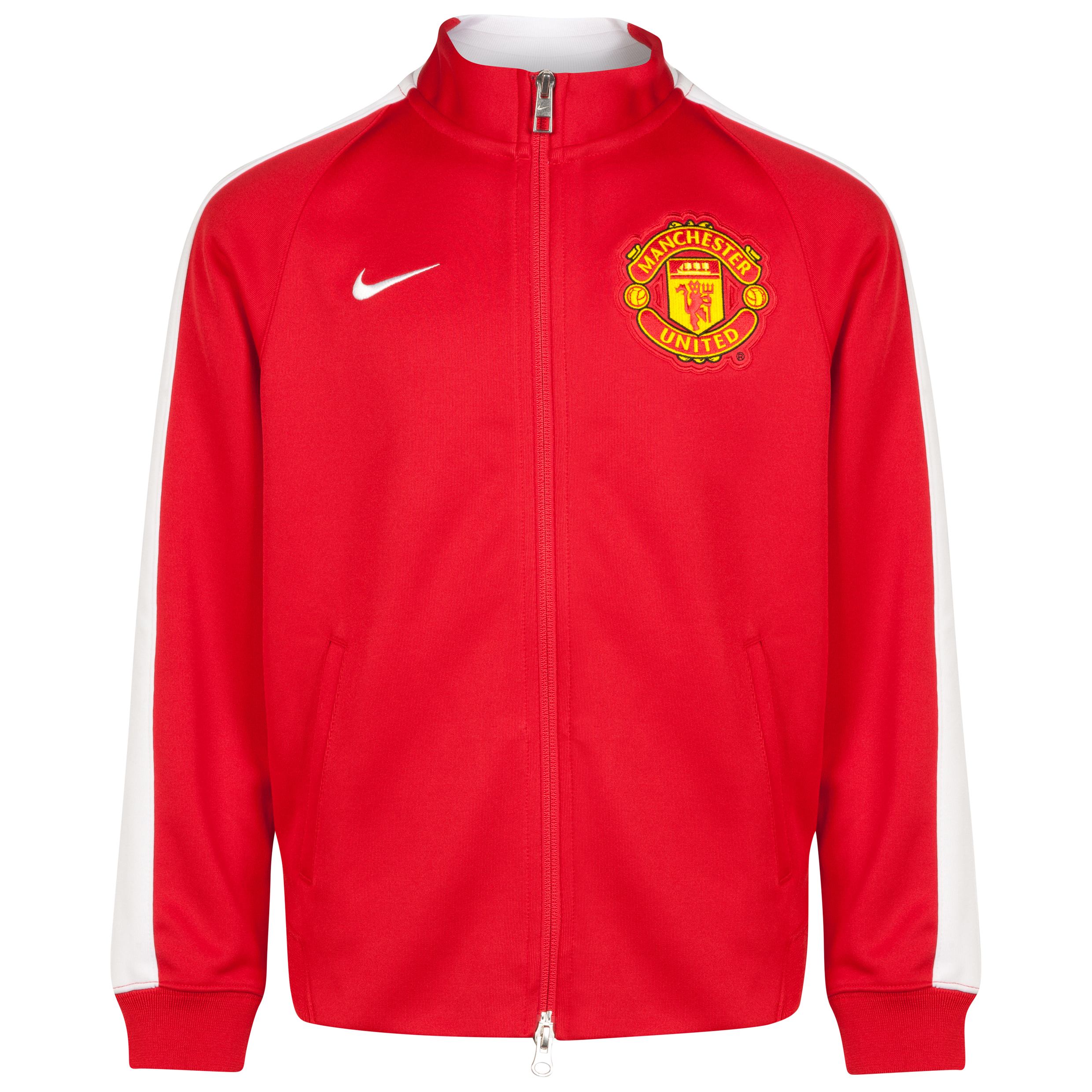 Manchester United Authentic N98 Jacket - Kids-Red