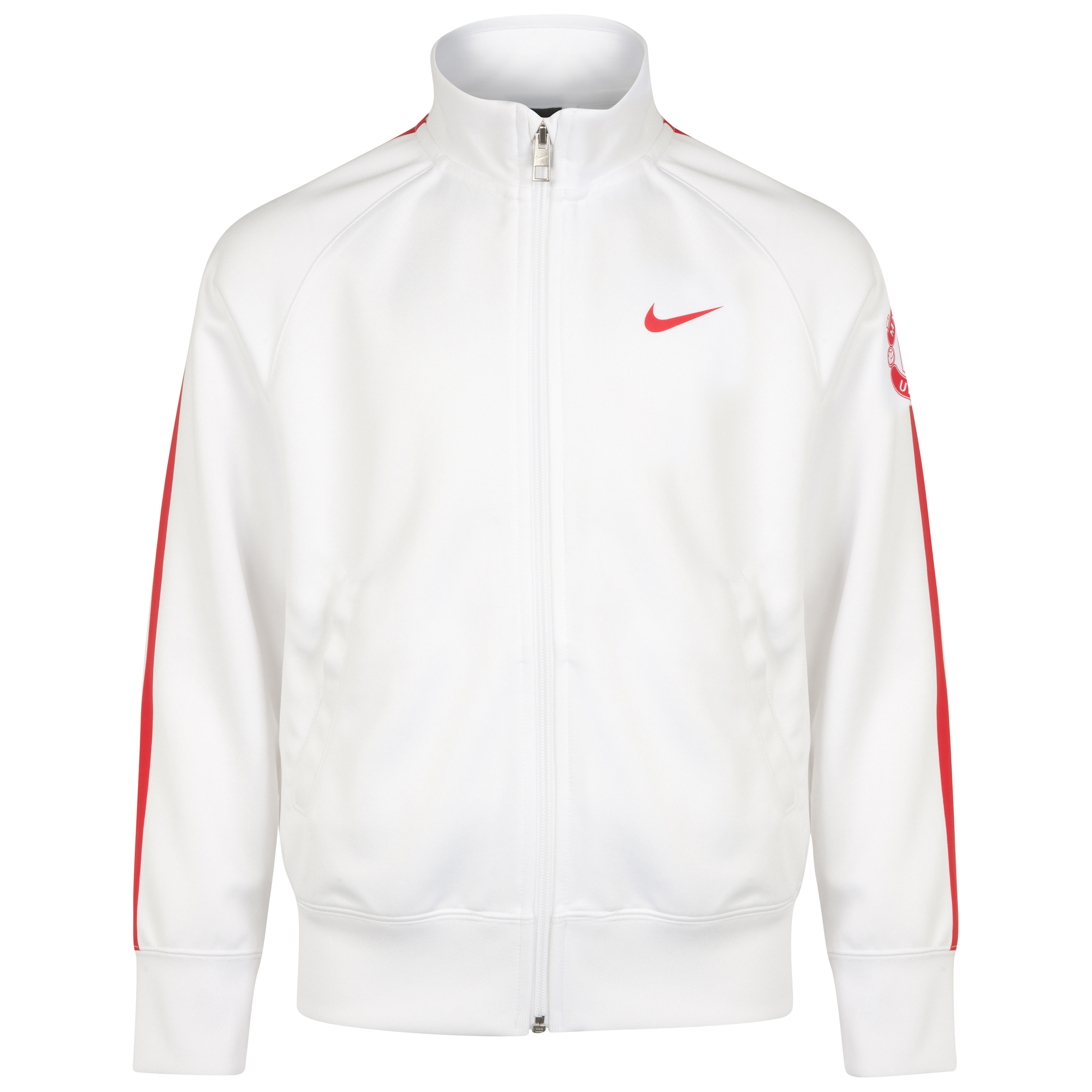Manchester United Core Trainer Jacket - Kids-White