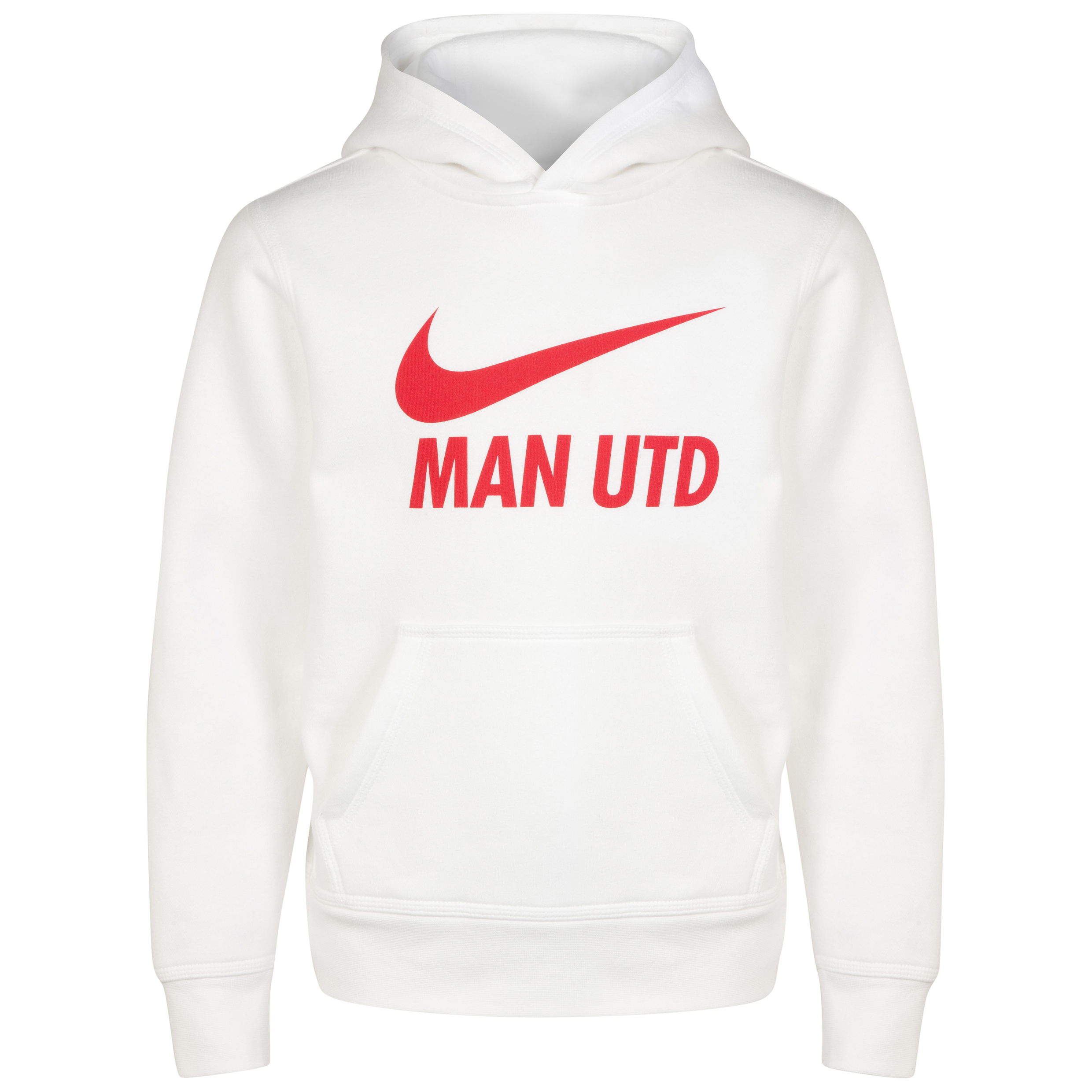 Manchester United Core Hoody - Kids-White