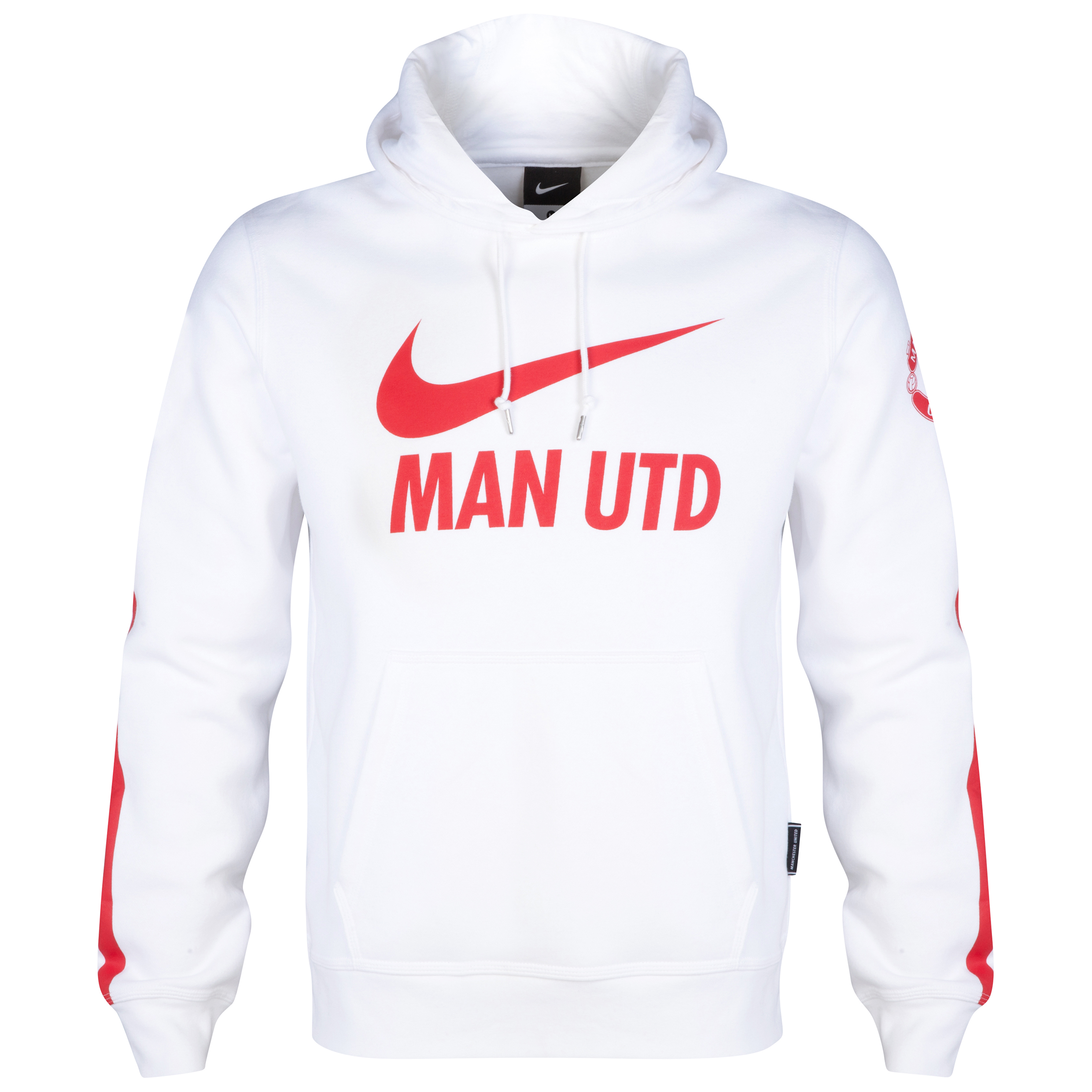 Manchester United Core Hoody-White