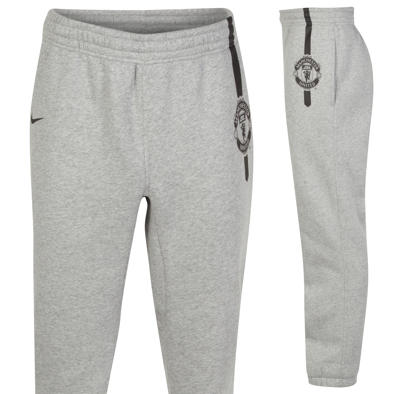 Manchester United Core Cuff Pant-Dk Grey