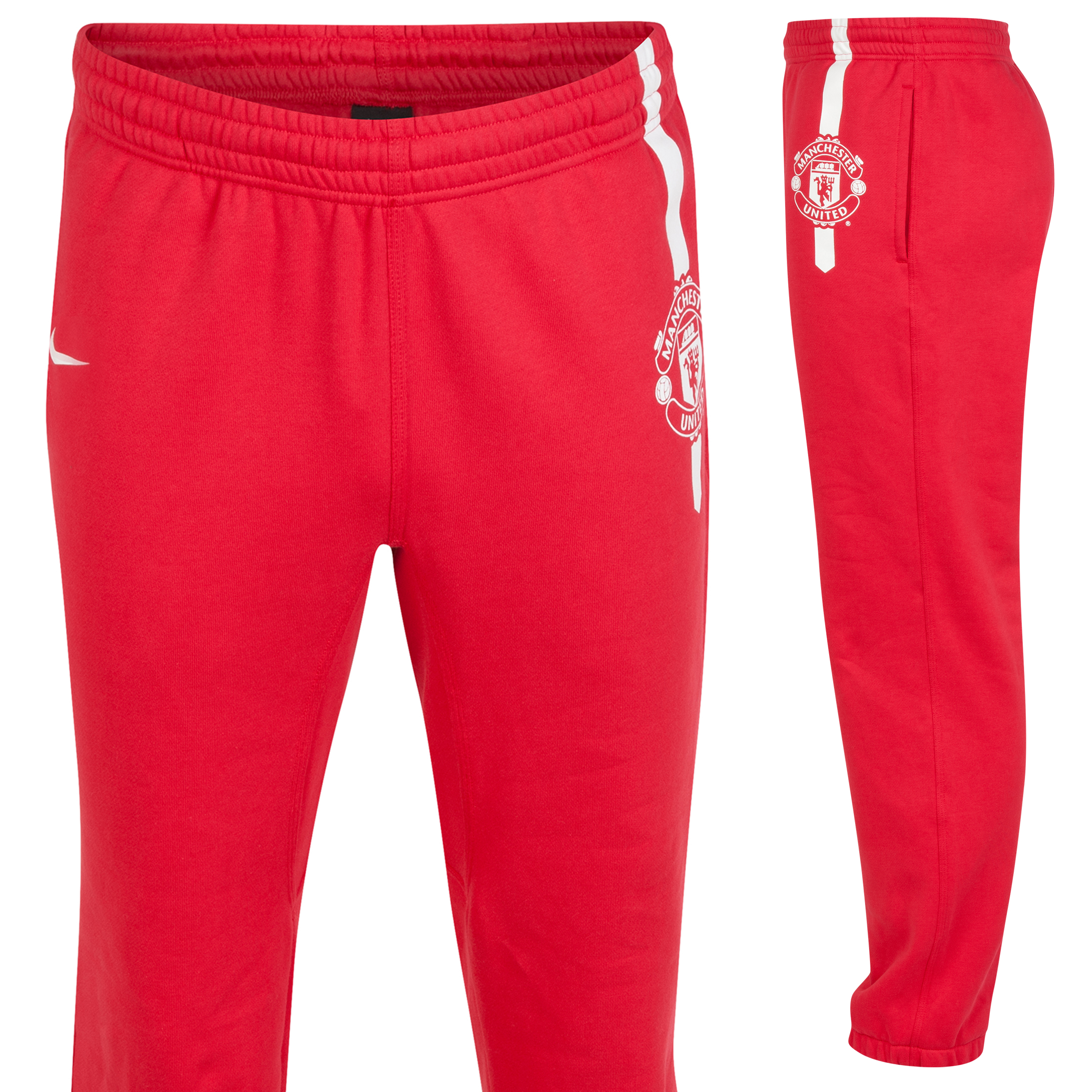Manchester United Core Cuff Pant-Red