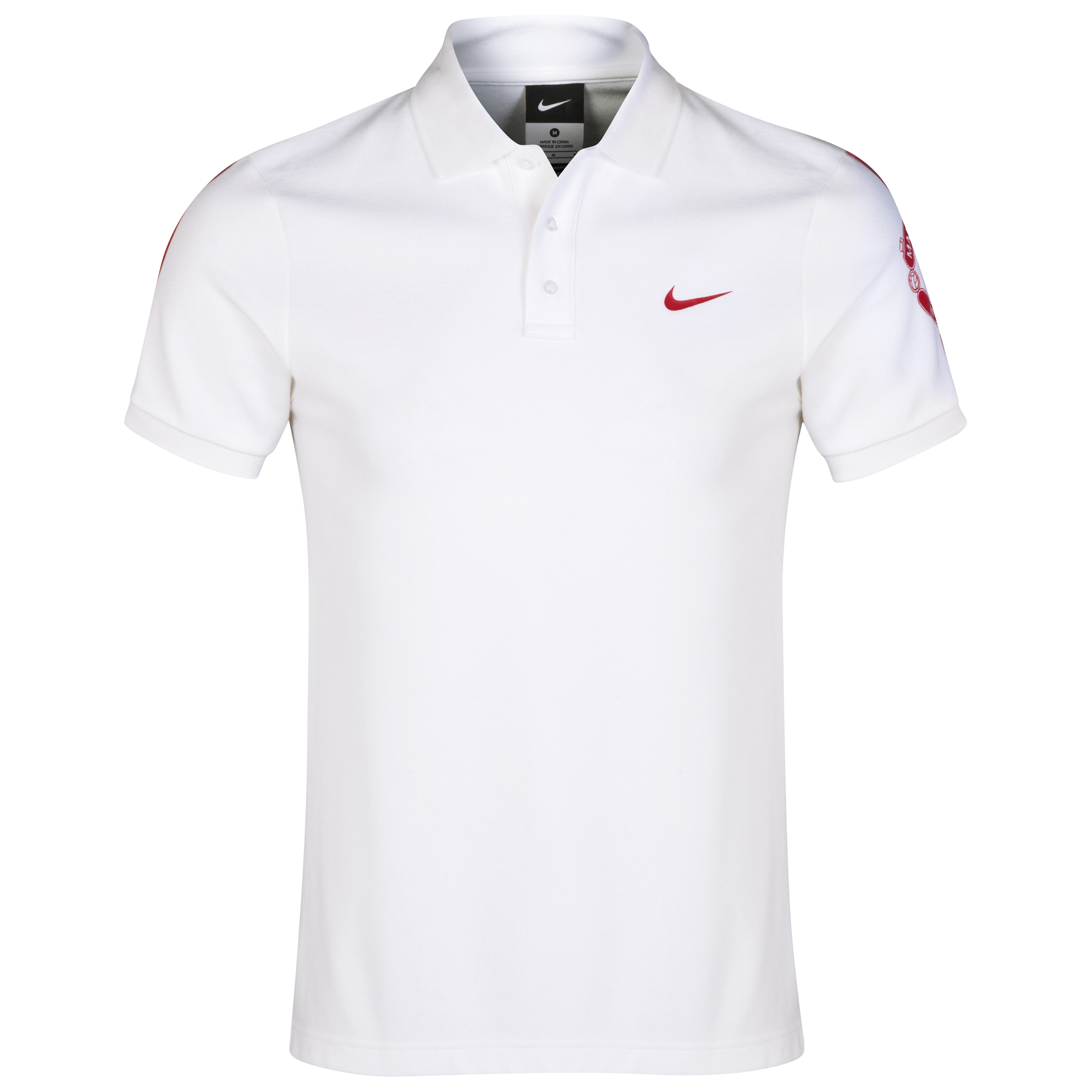 Manchester United Core Match Up Polo-White