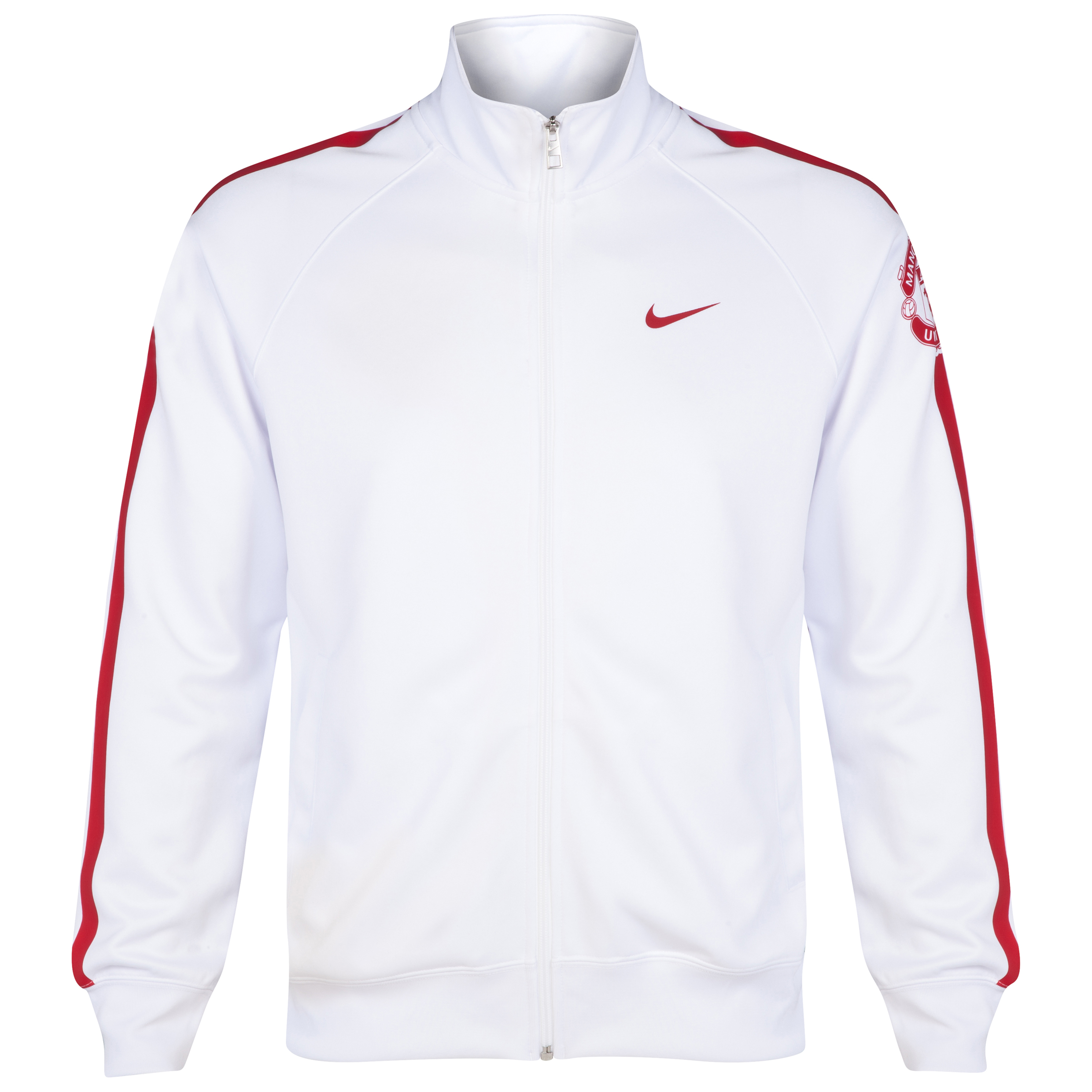 Manchester United Core Trainer Jacket-White
