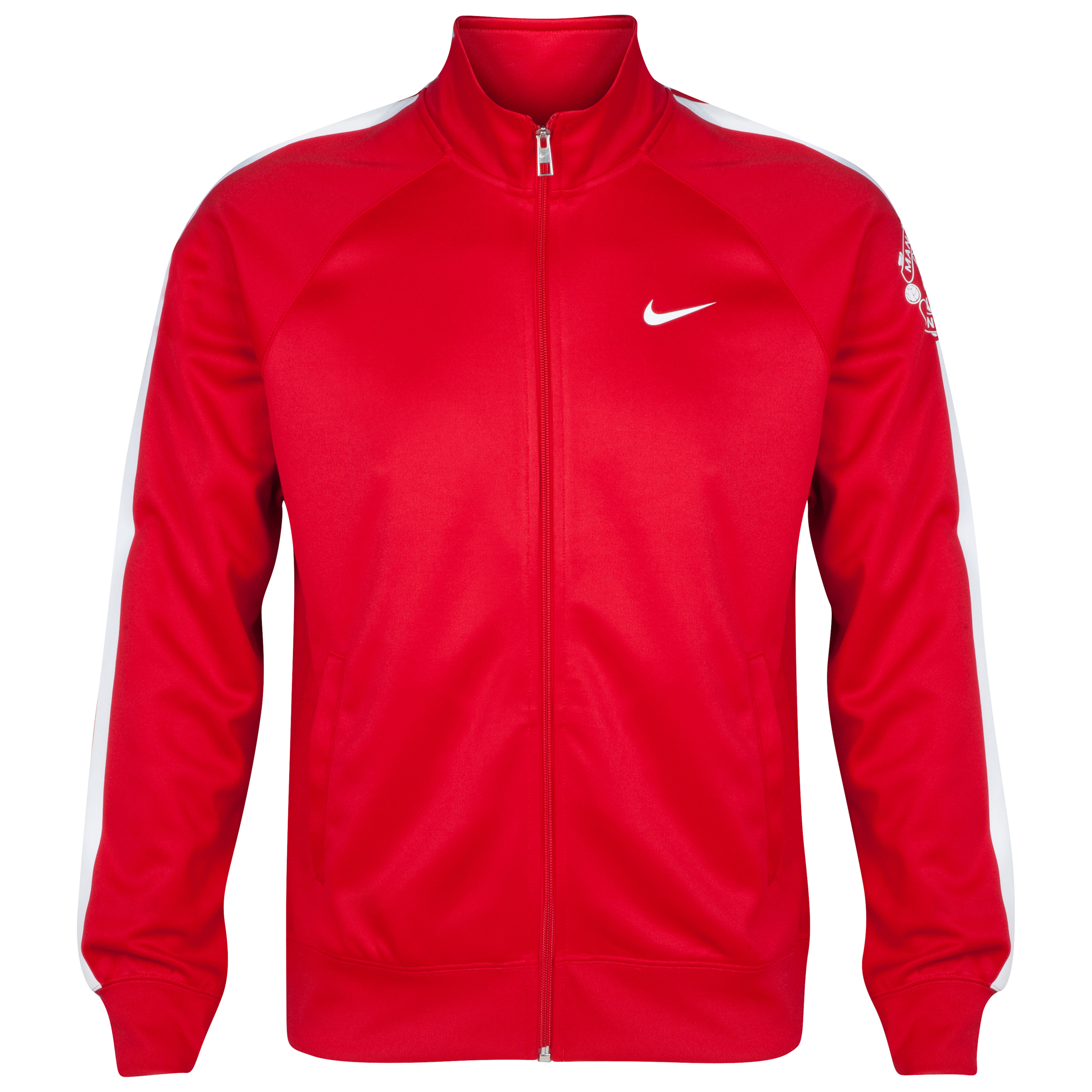 Manchester United Core Trainer Jacket-Red