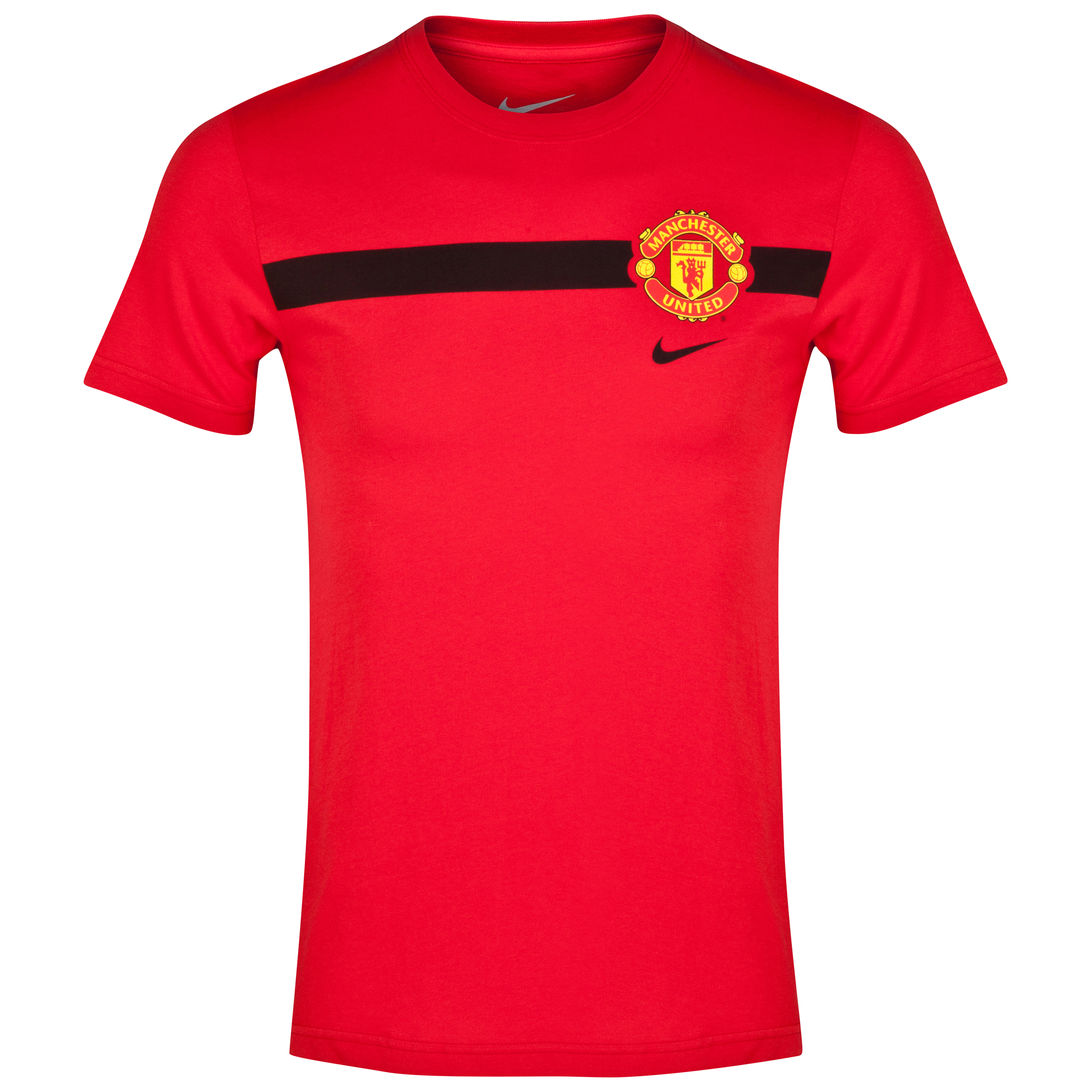 Manchester United Core T-Shirt-Red