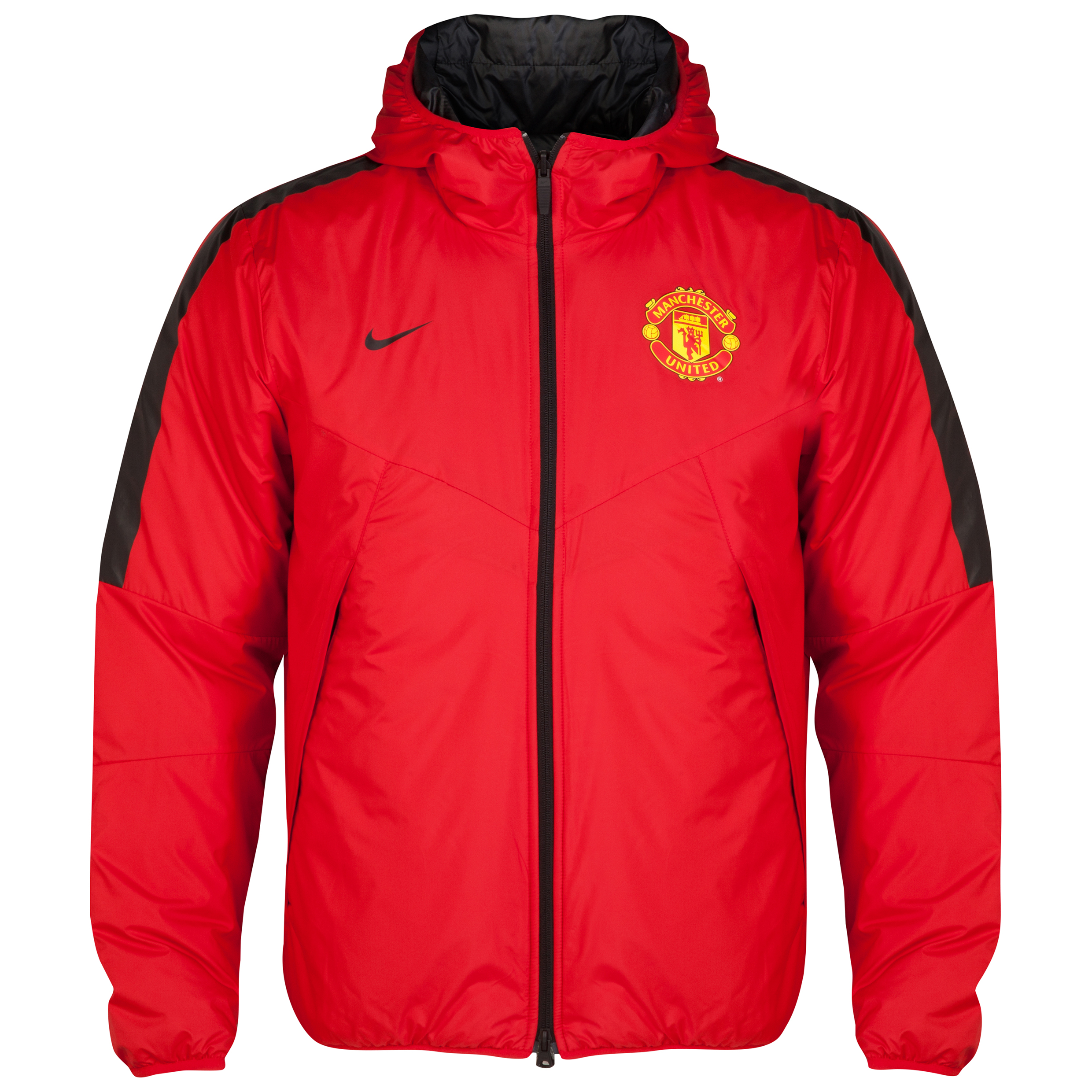 Manchester United Core Padded Jacket-Red