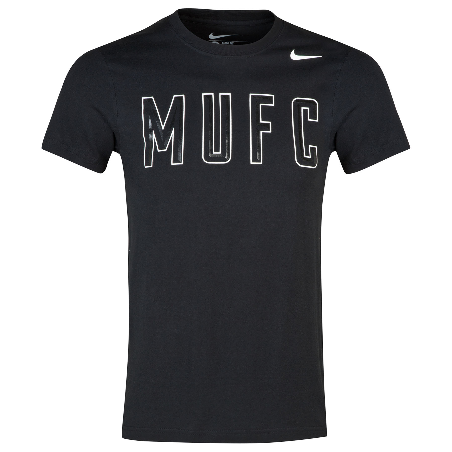 Manchester United Core Plus T-Shirt-Black Black